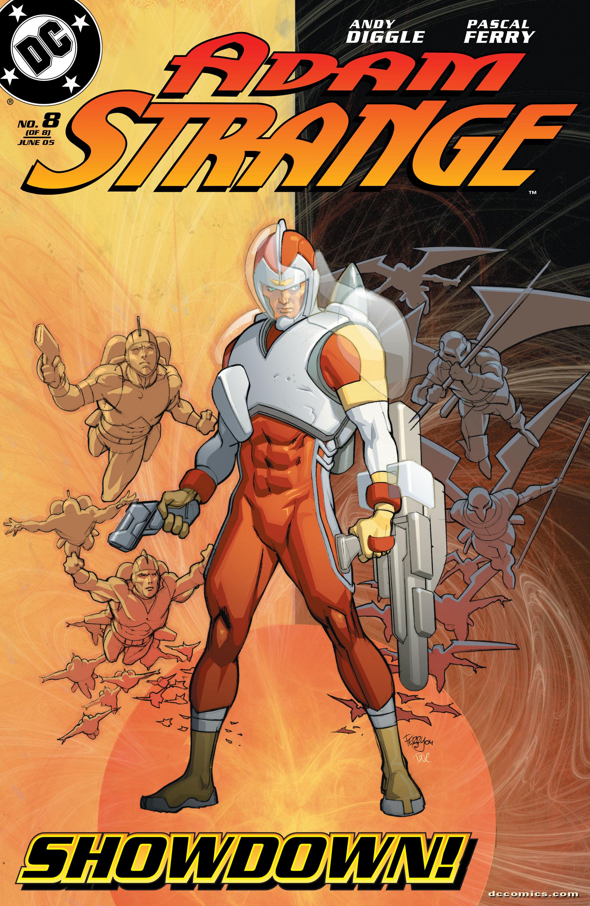 Read online Adam Strange (2004) comic -  Issue #8 - 1