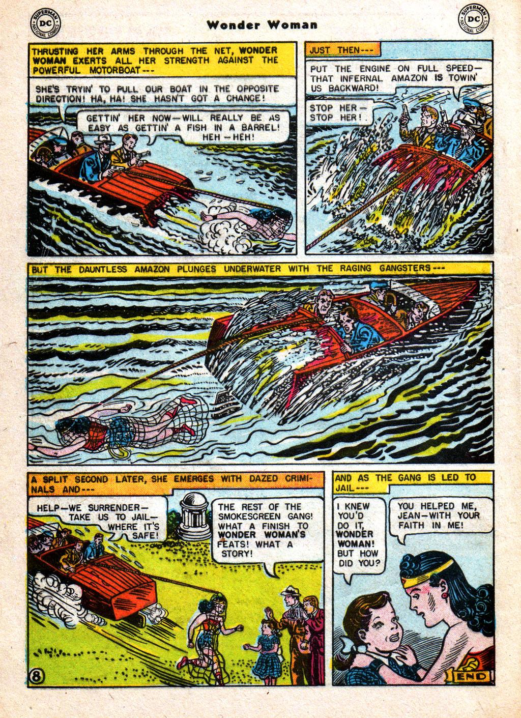 Read online Wonder Woman (1942) comic -  Issue #77 - 10