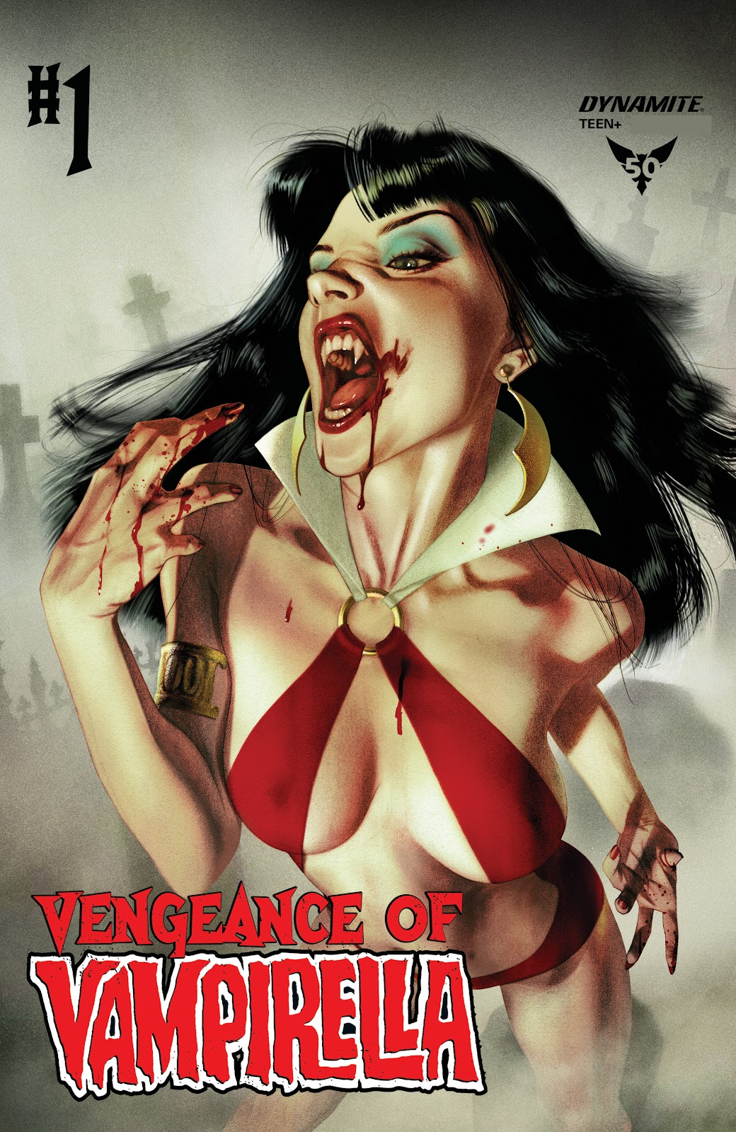 Read online Vengeance of Vampirella (2019) comic -  Issue #1 - 1