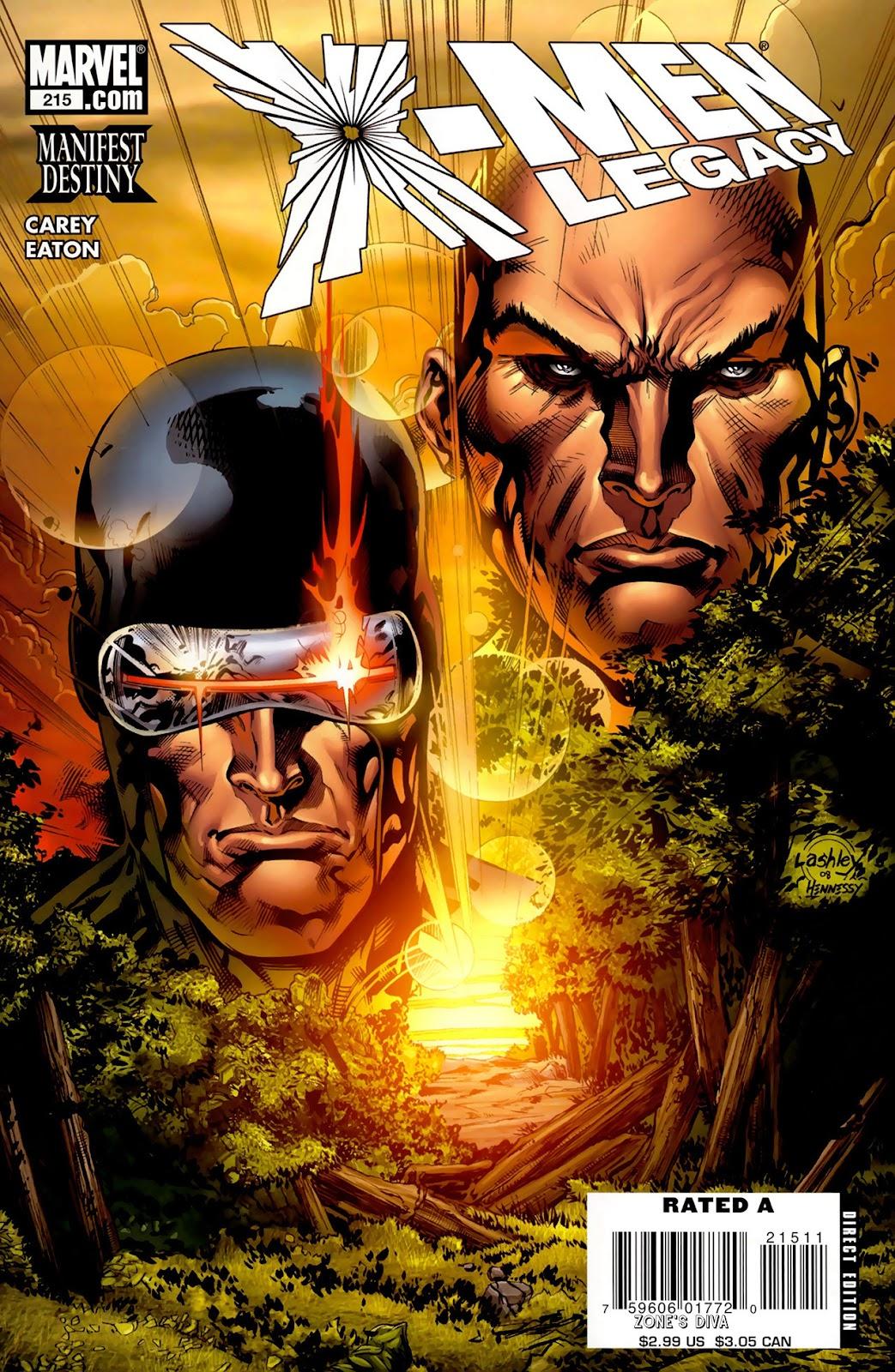 X-Men Legacy (2008) 215 Page 1