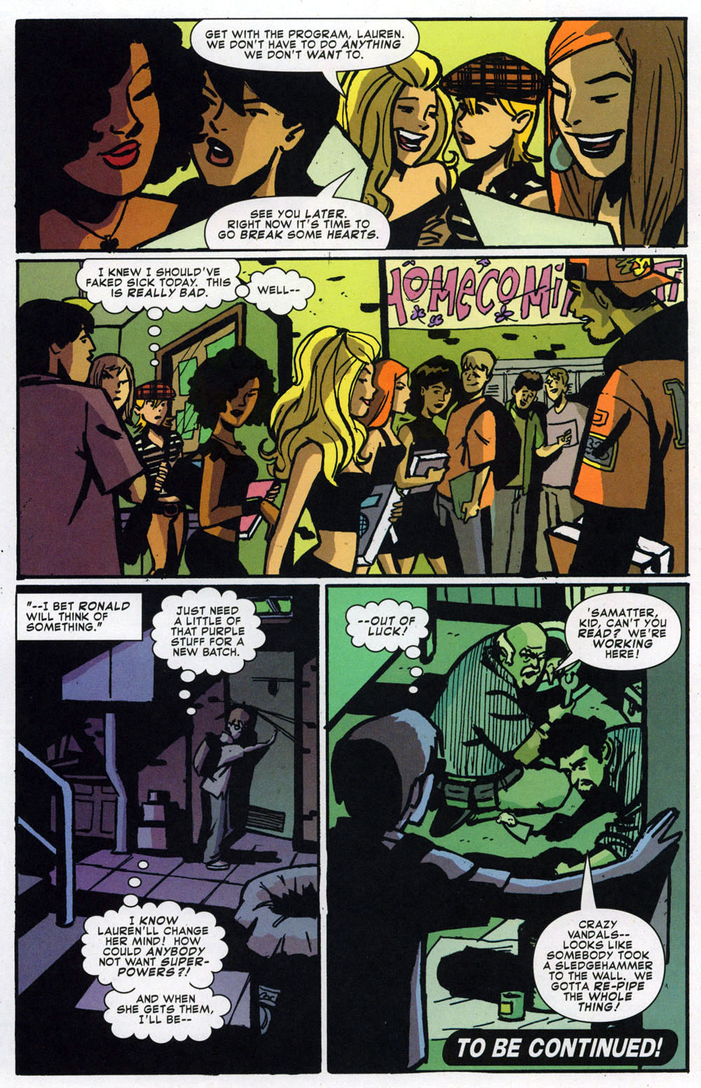 Read online Bad Girls comic -  Issue #1 - 23