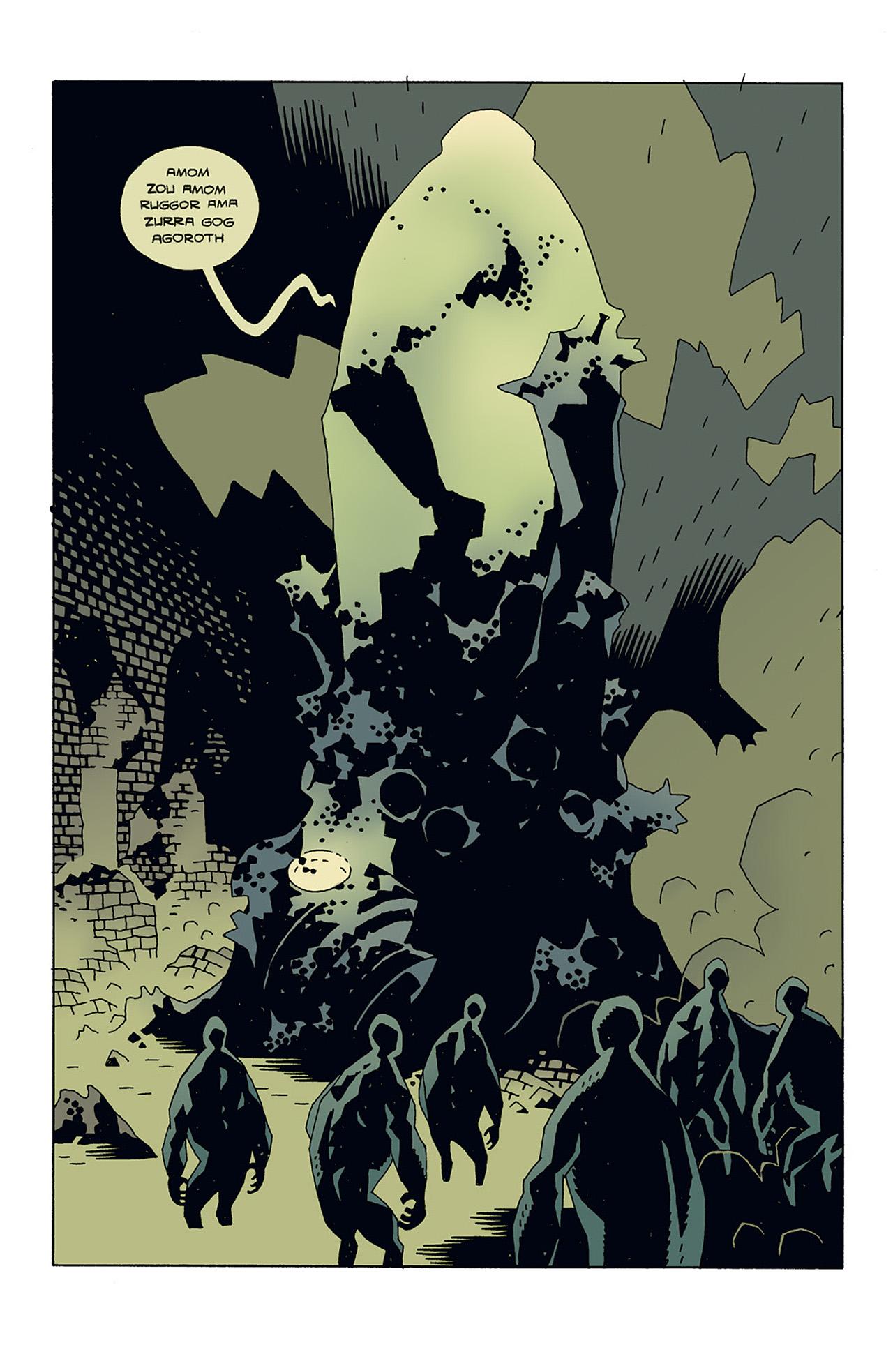 Read online Hellboy: Conqueror Worm comic -  Issue #3 - 16