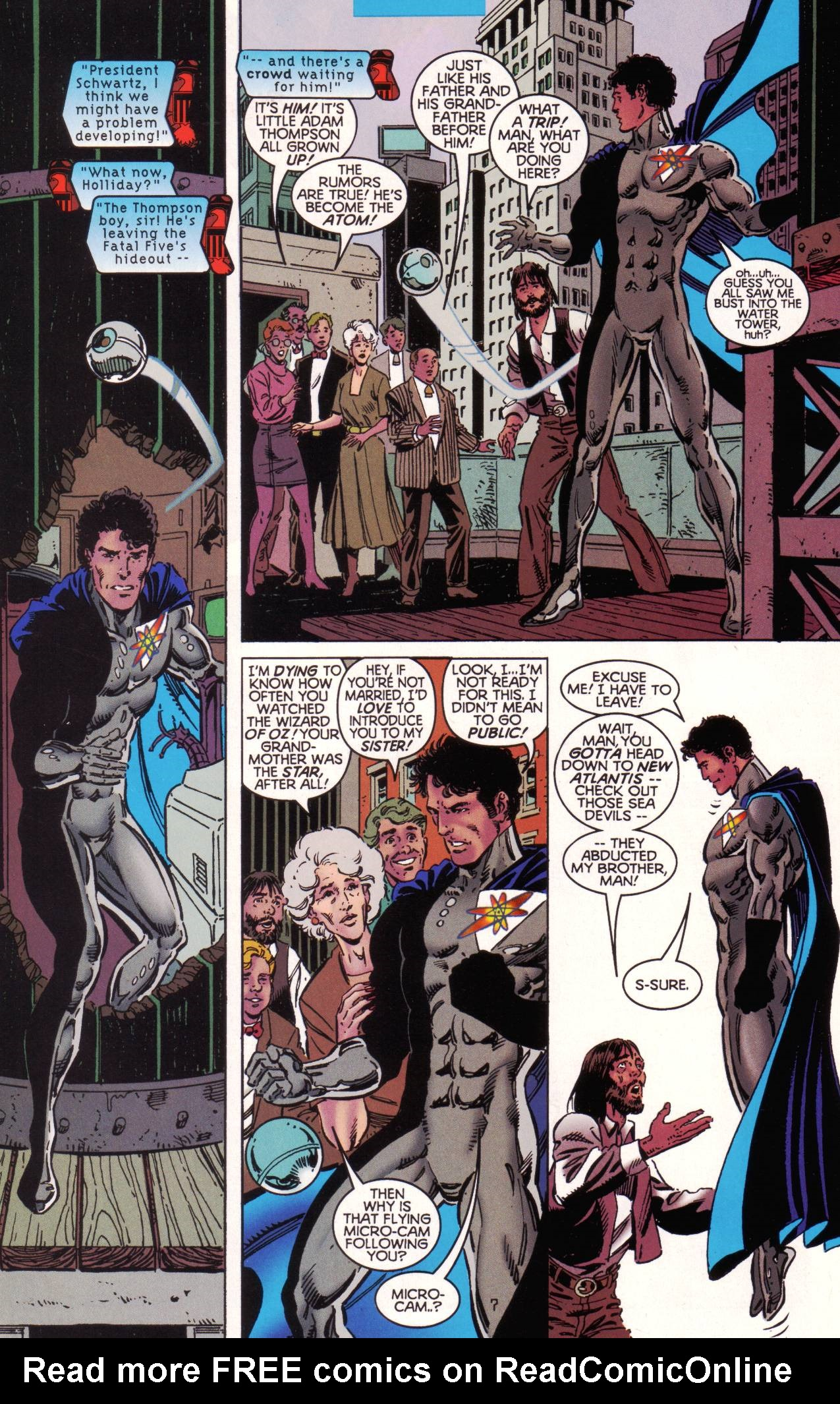 Read online Tangent Comics/ The Atom comic -  Issue # Full - 8