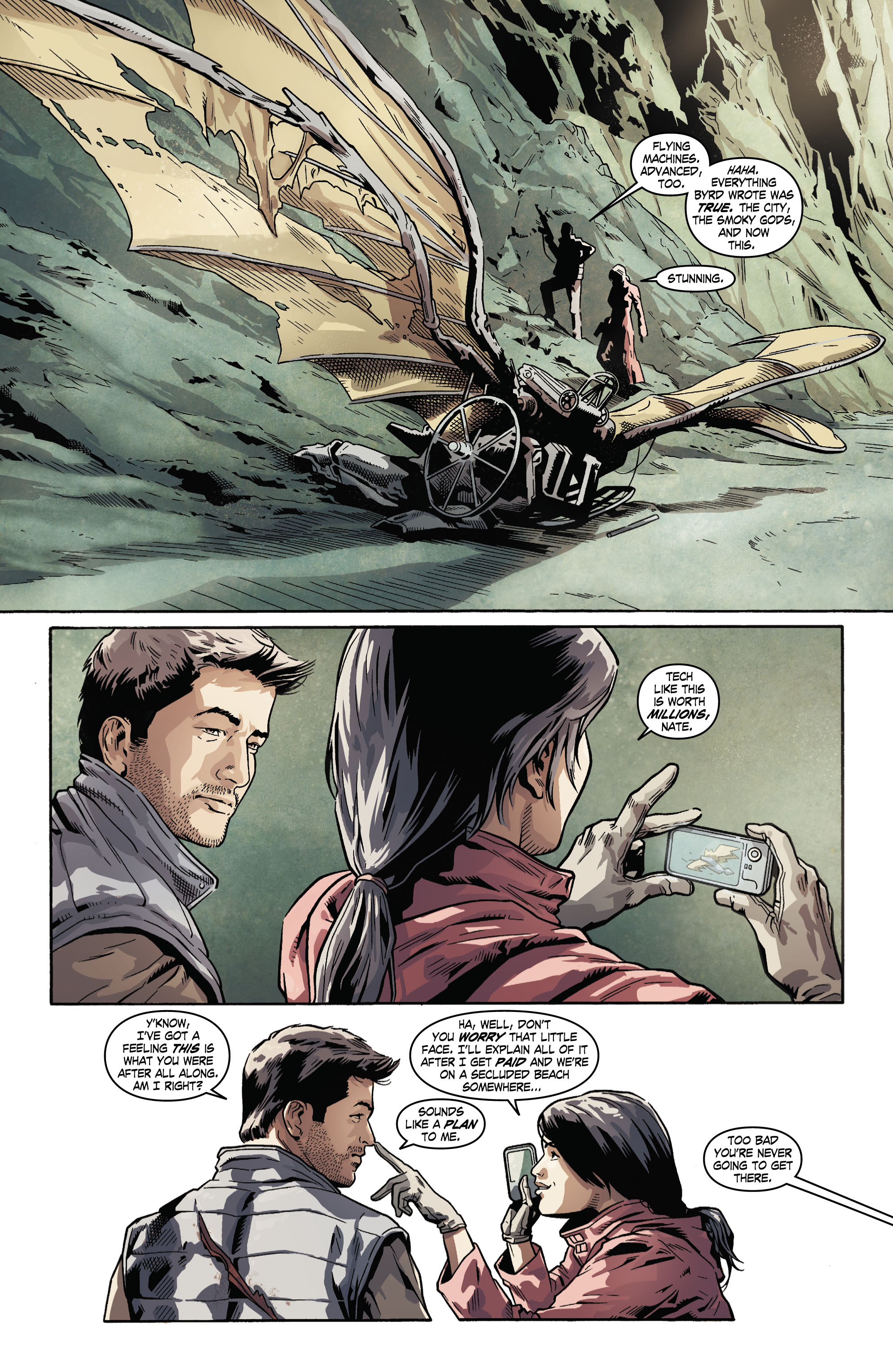 Read online Uncharted comic -  Issue #5 - 11