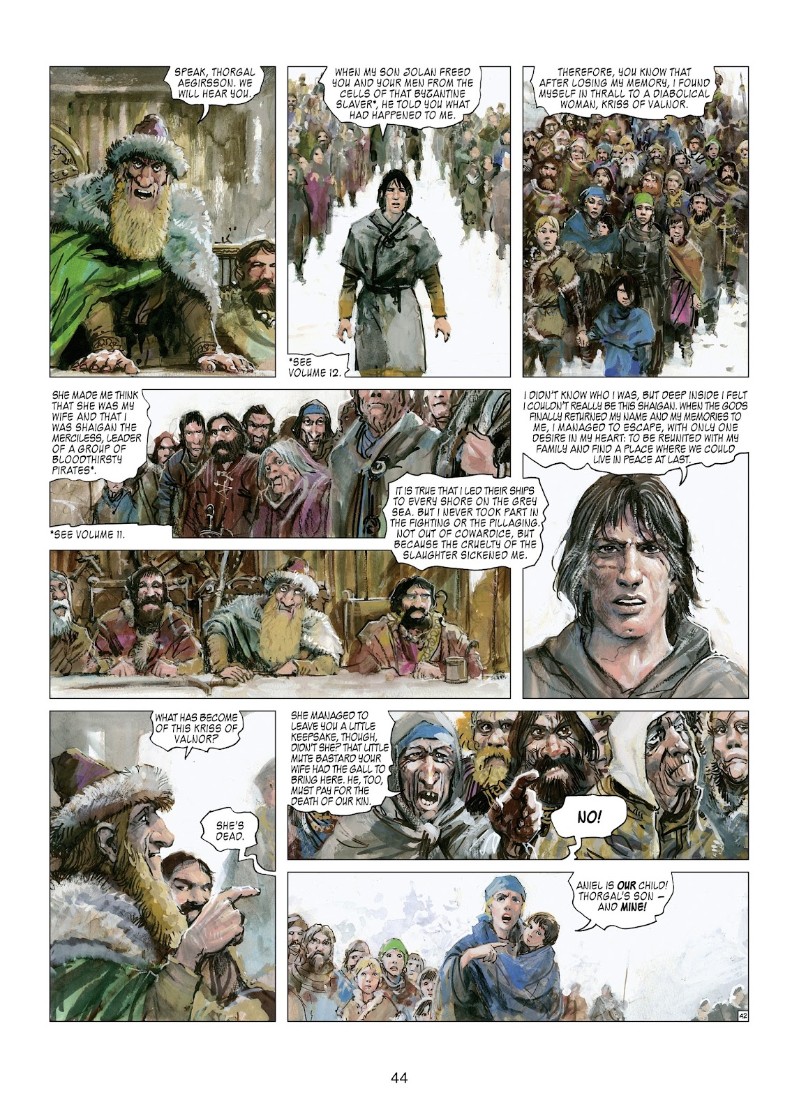 Read online Thorgal comic -  Issue #21 - 46