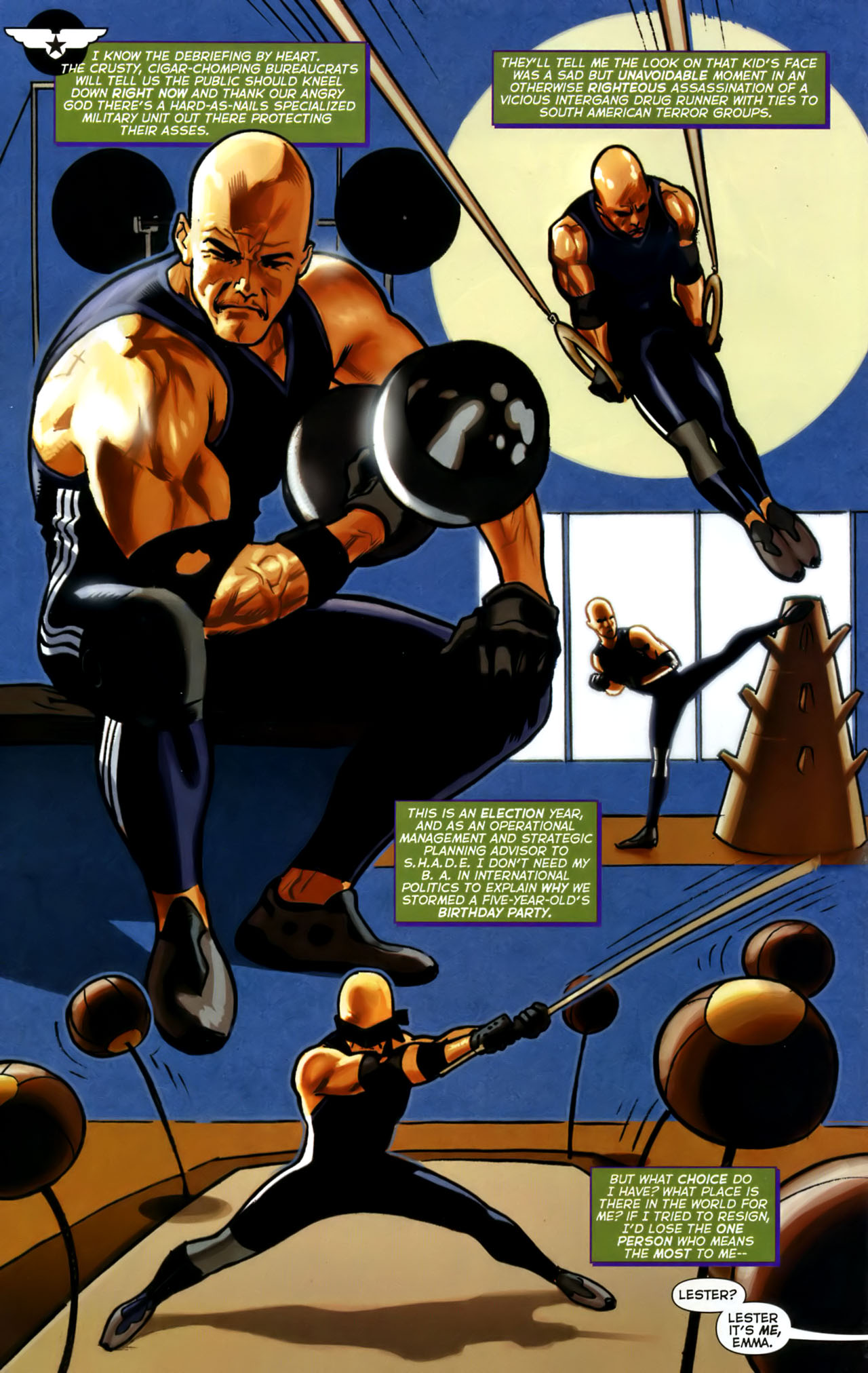 Read online Uncle Sam and the Freedom Fighters (2006) comic -  Issue #1 - 10