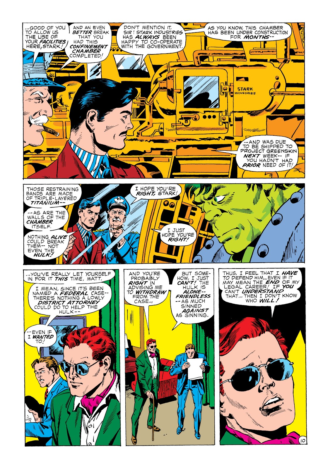 Read online Marvel Masterworks: The Incredible Hulk comic -  Issue # TPB 8 (Part 3) - 6