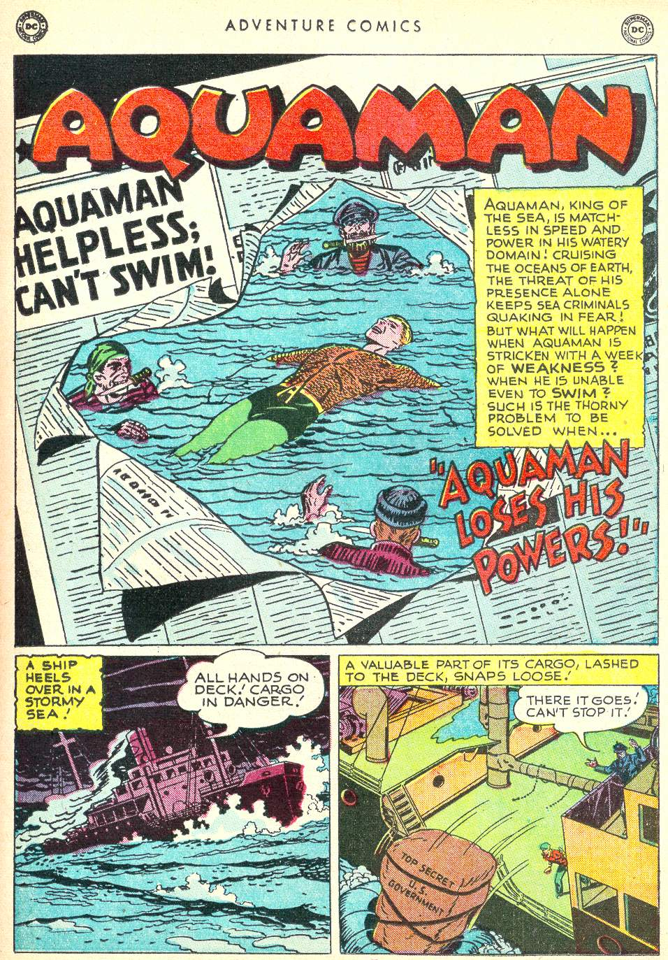 Read online Adventure Comics (1938) comic -  Issue #146 - 15