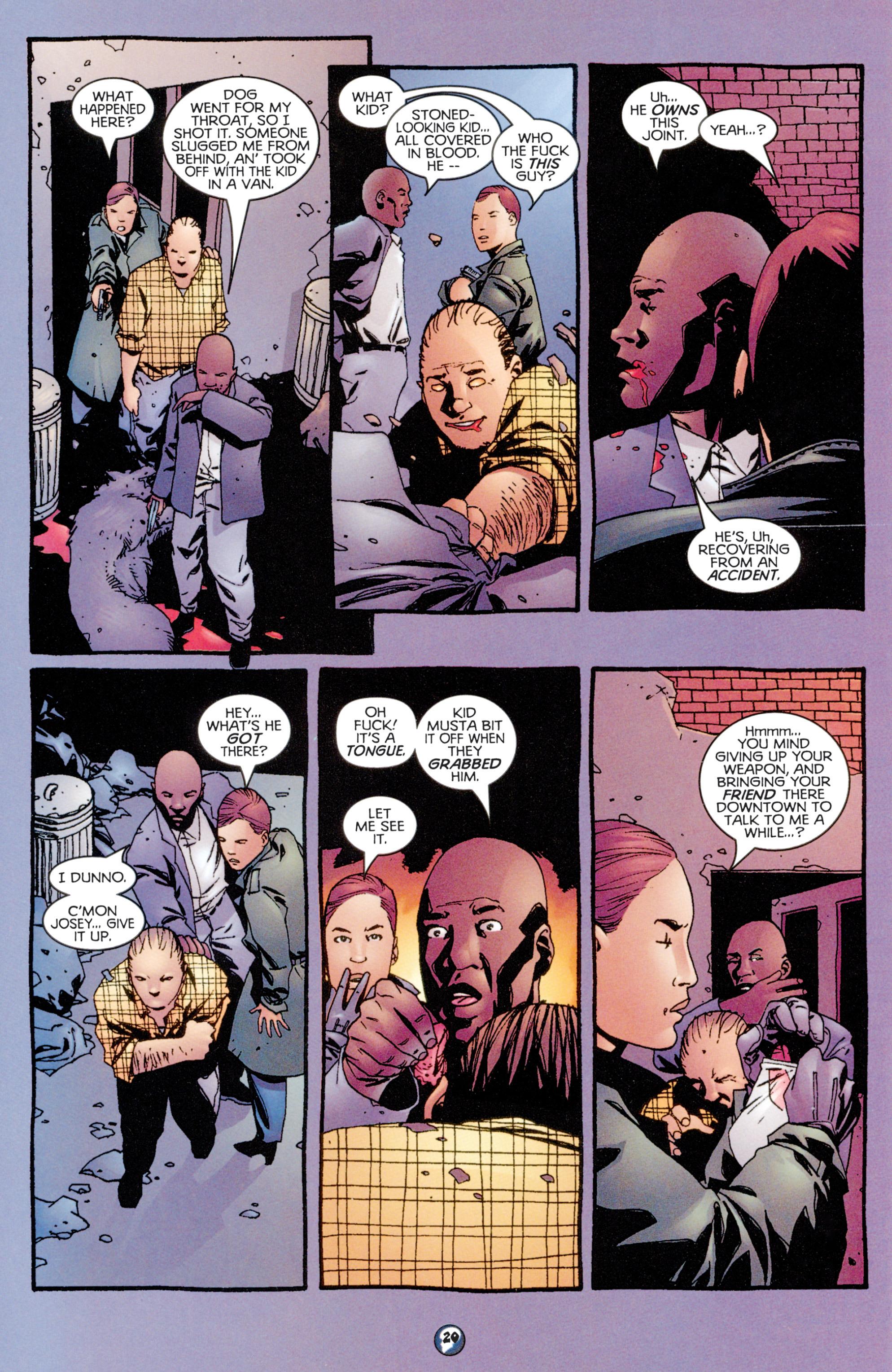 Read online Shadowman (1997) comic -  Issue #9 - 16