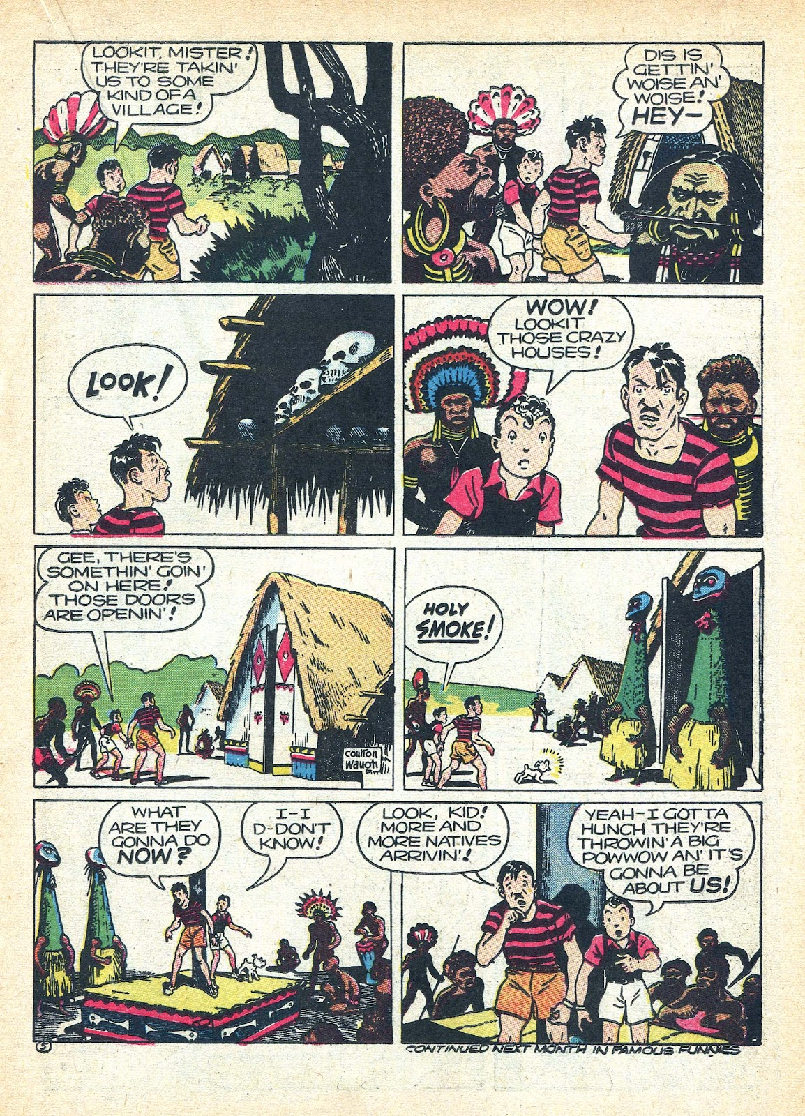 Read online Famous Funnies comic -  Issue #95 - 29