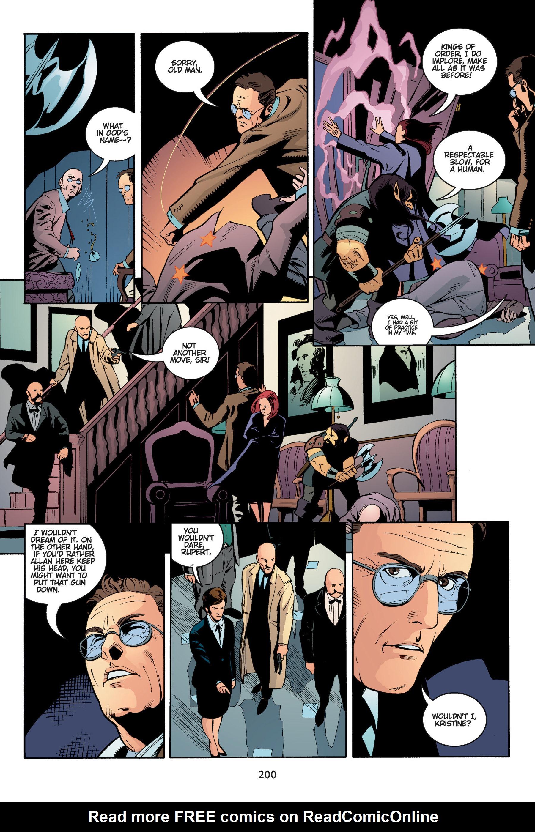 Read online Buffy the Vampire Slayer: Omnibus comic -  Issue # TPB 5 - 200