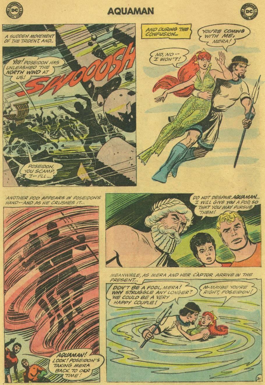 Read online Aquaman (1962) comic -  Issue #17 - 28
