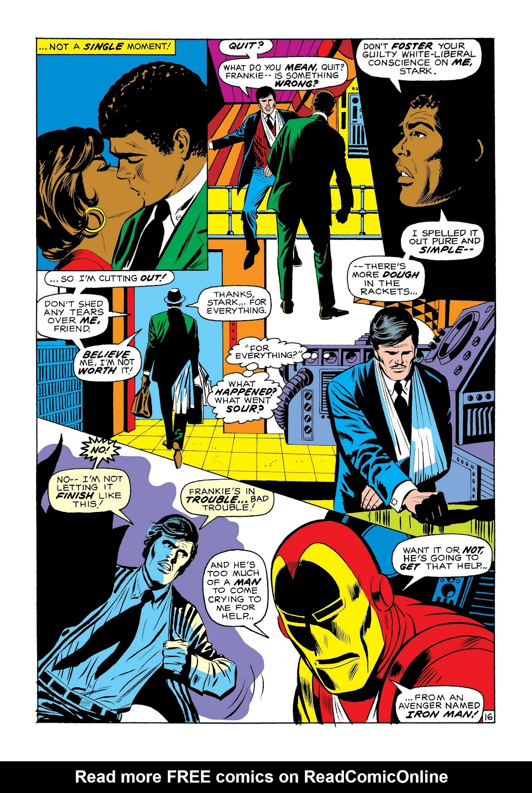 Read online Marvel Masterworks: The Invincible Iron Man comic -  Issue # TPB 7 (Part 3) - 84