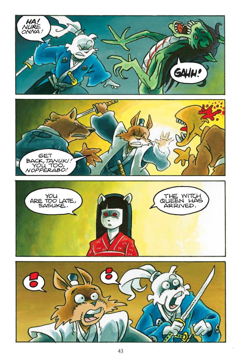 Read online Usagi Yojimbo: Yokai comic -  Issue # Full - 41