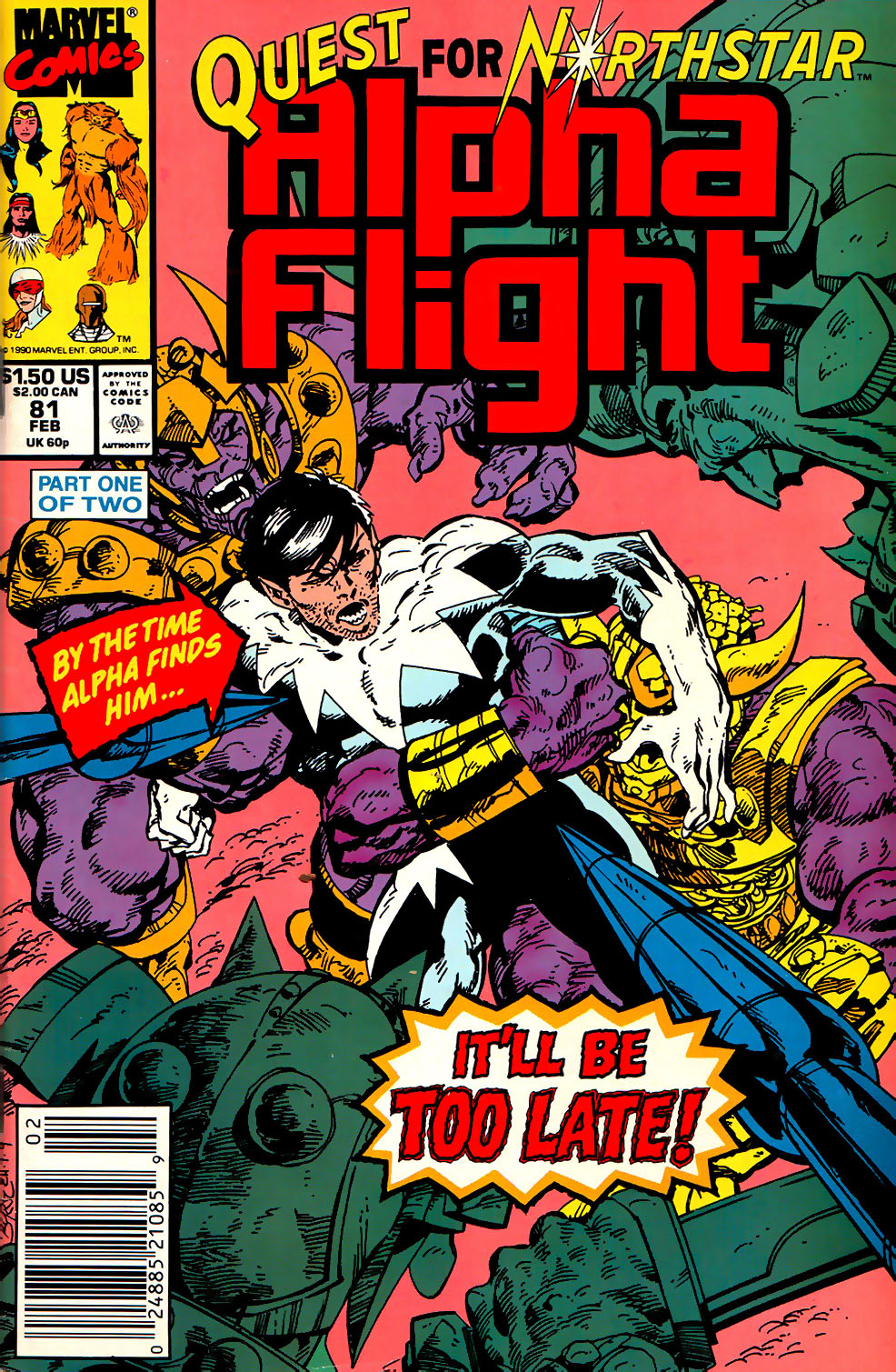 Alpha Flight (1983) 81 Page 1