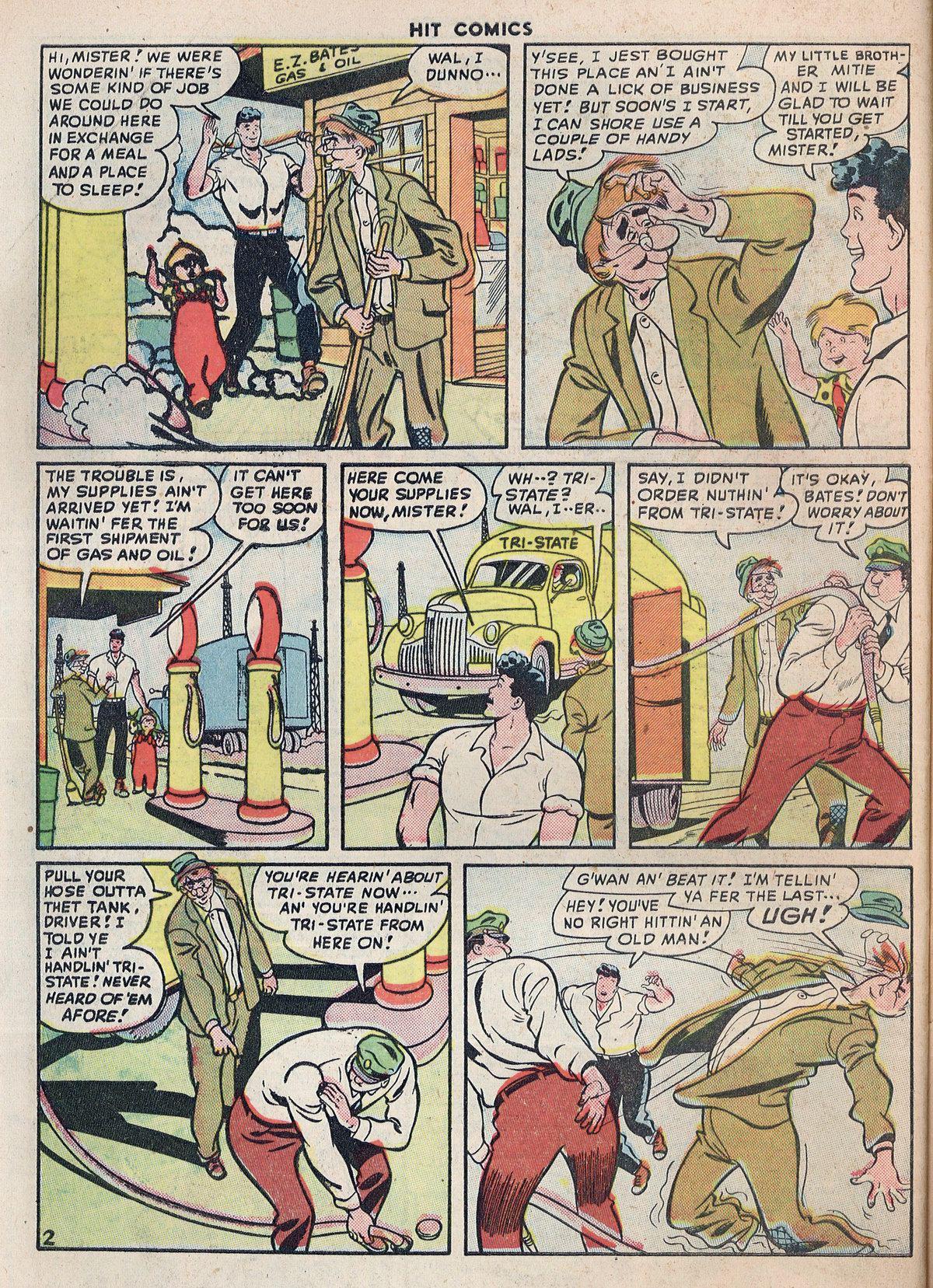Read online Hit Comics comic -  Issue #55 - 46