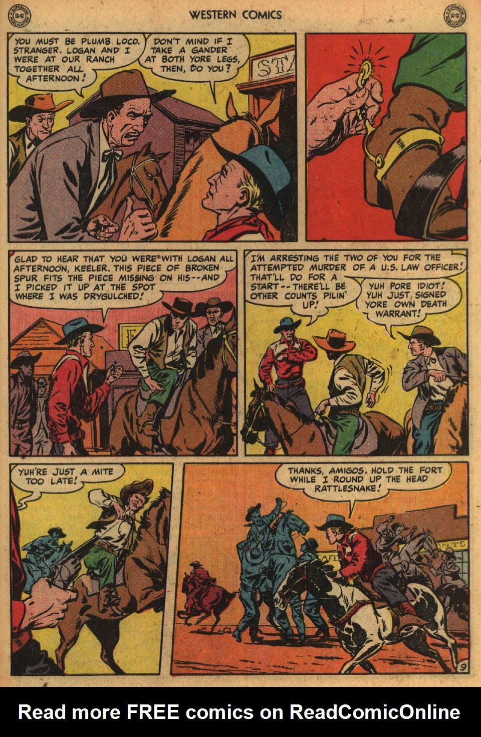 Western Comics issue 1 - Page 11
