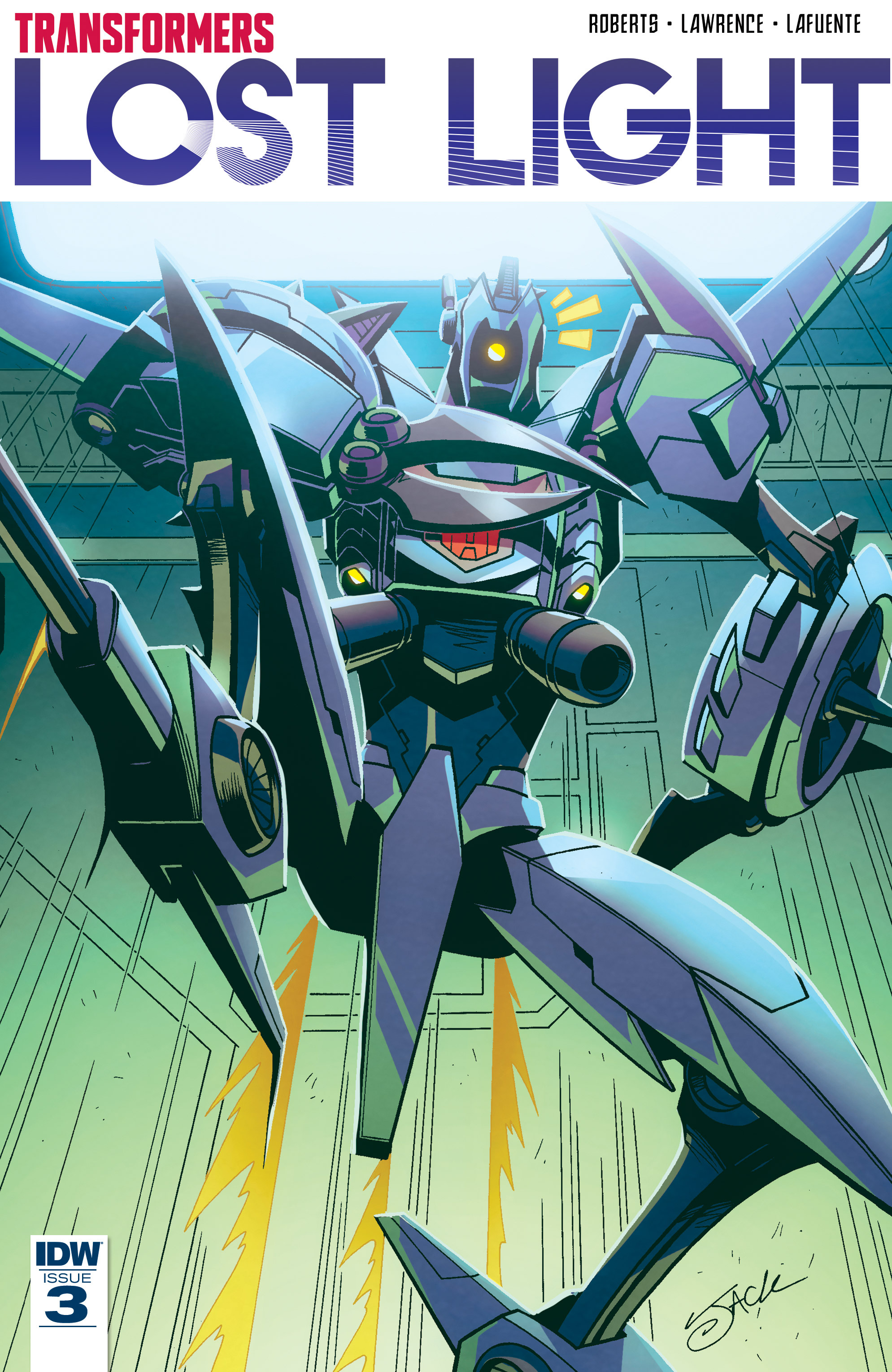 Read online Transformers: Lost Light comic -  Issue #3 - 1