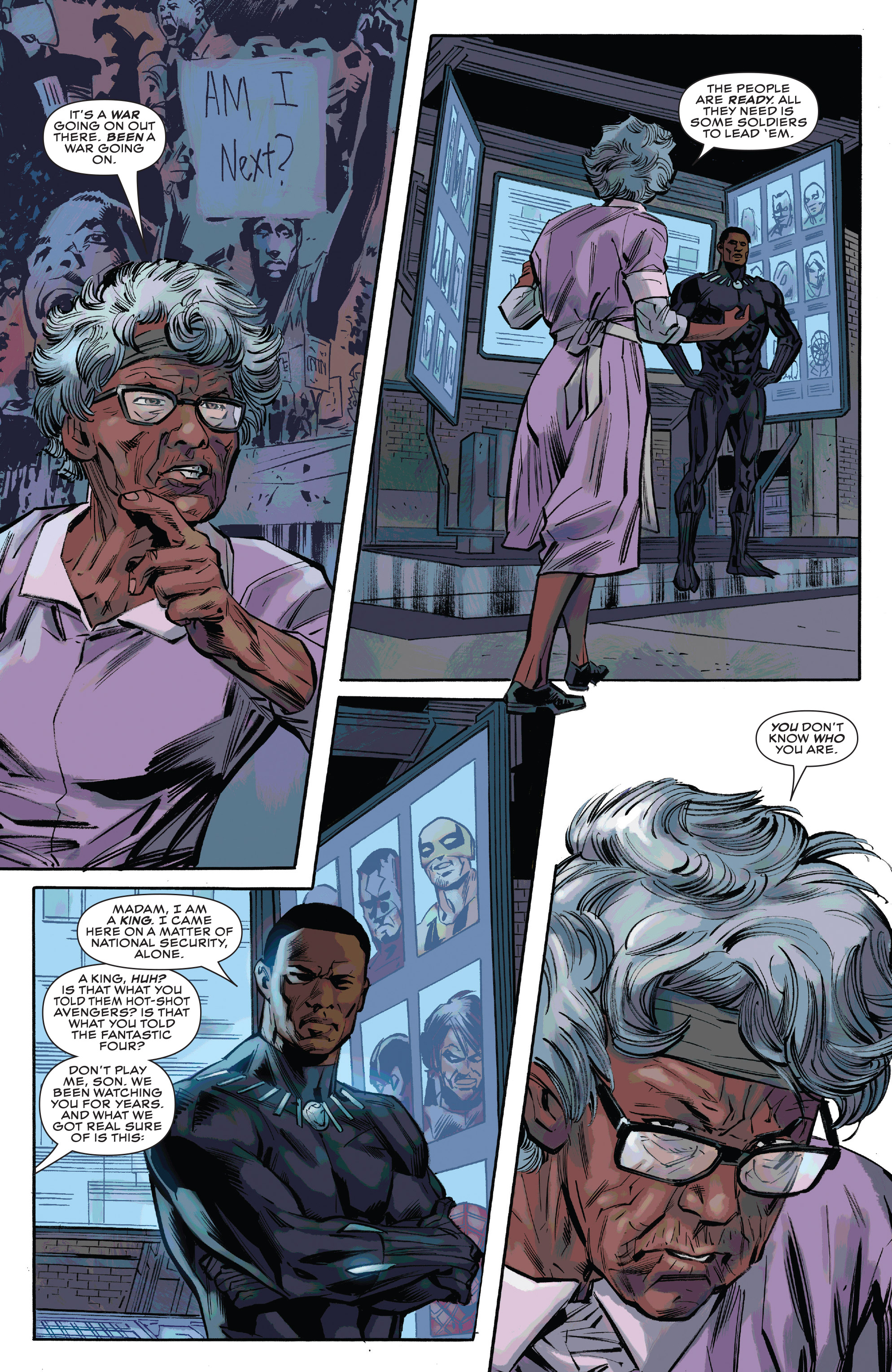 Read online Black Panther and the Crew comic -  Issue #3 - 9