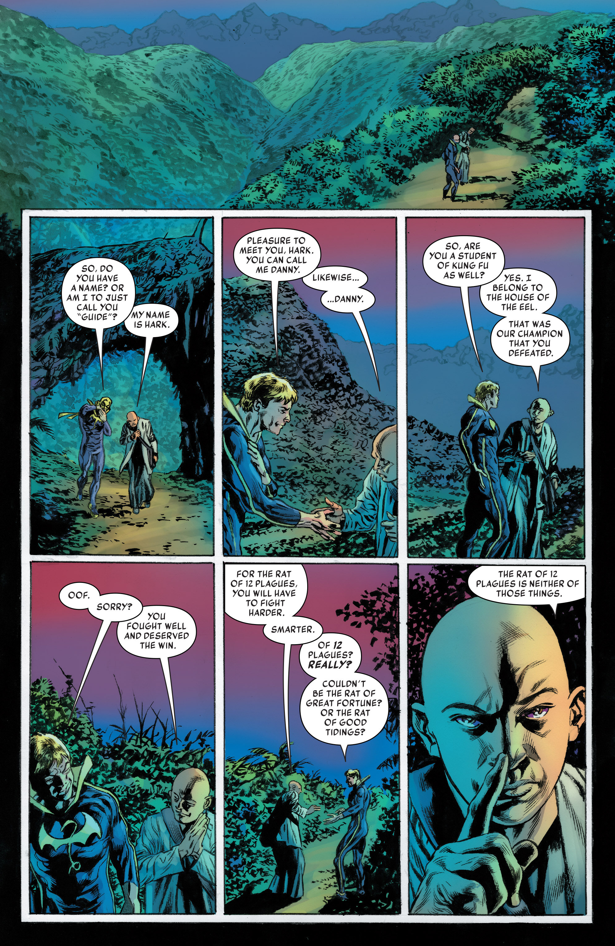 Read online Iron Fist (2017) comic -  Issue #2 - 16