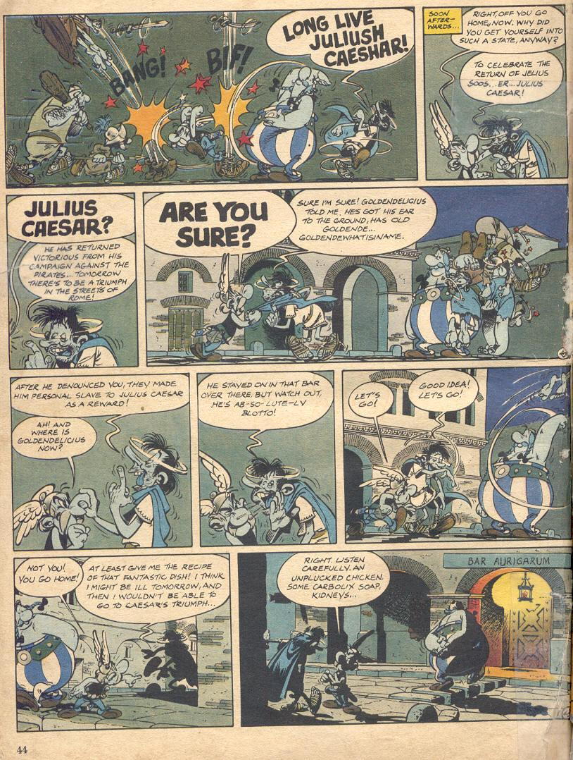 Read online Asterix comic -  Issue #18 - 42