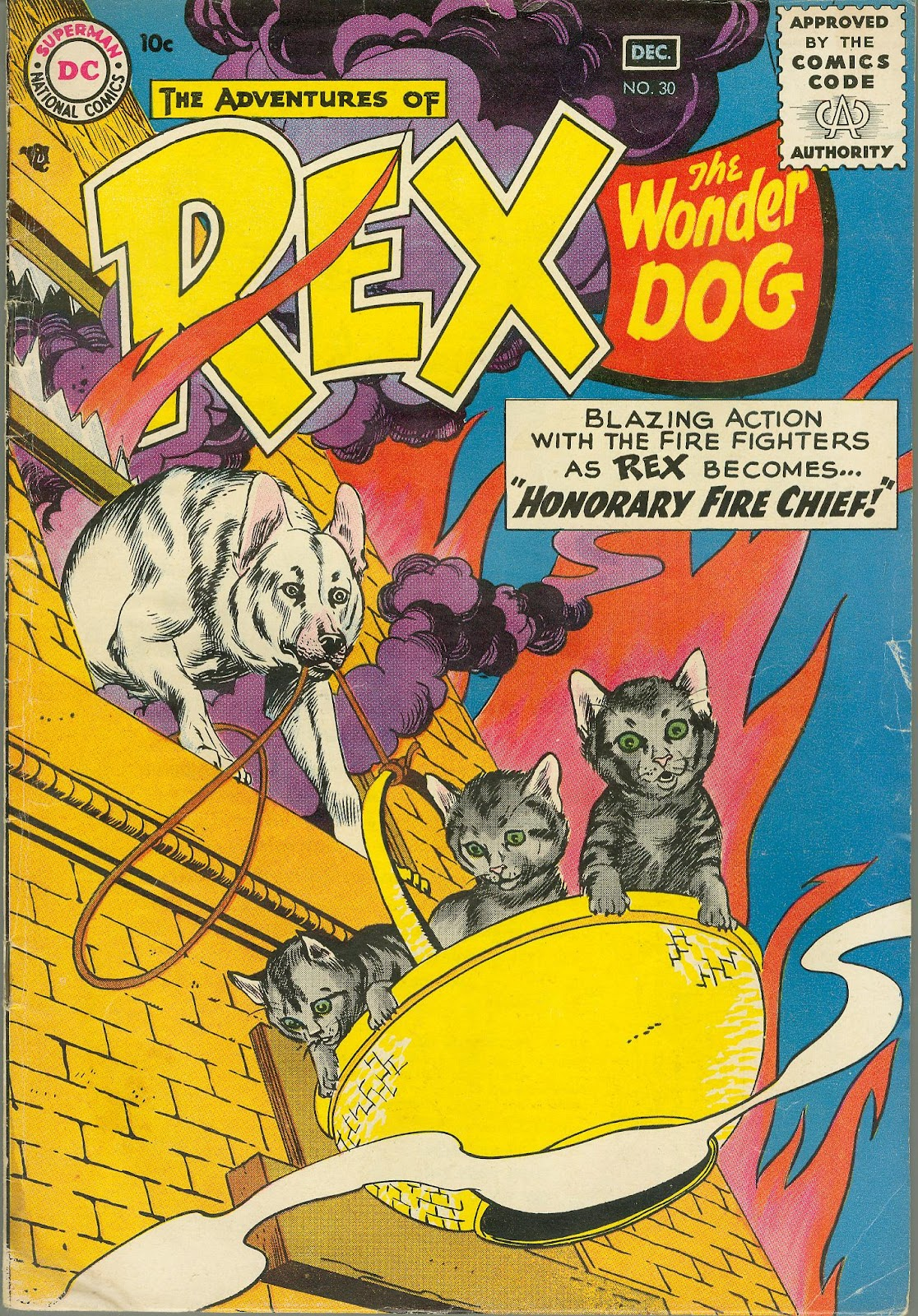 The Adventures of Rex the Wonder Dog issue 30 - Page 1