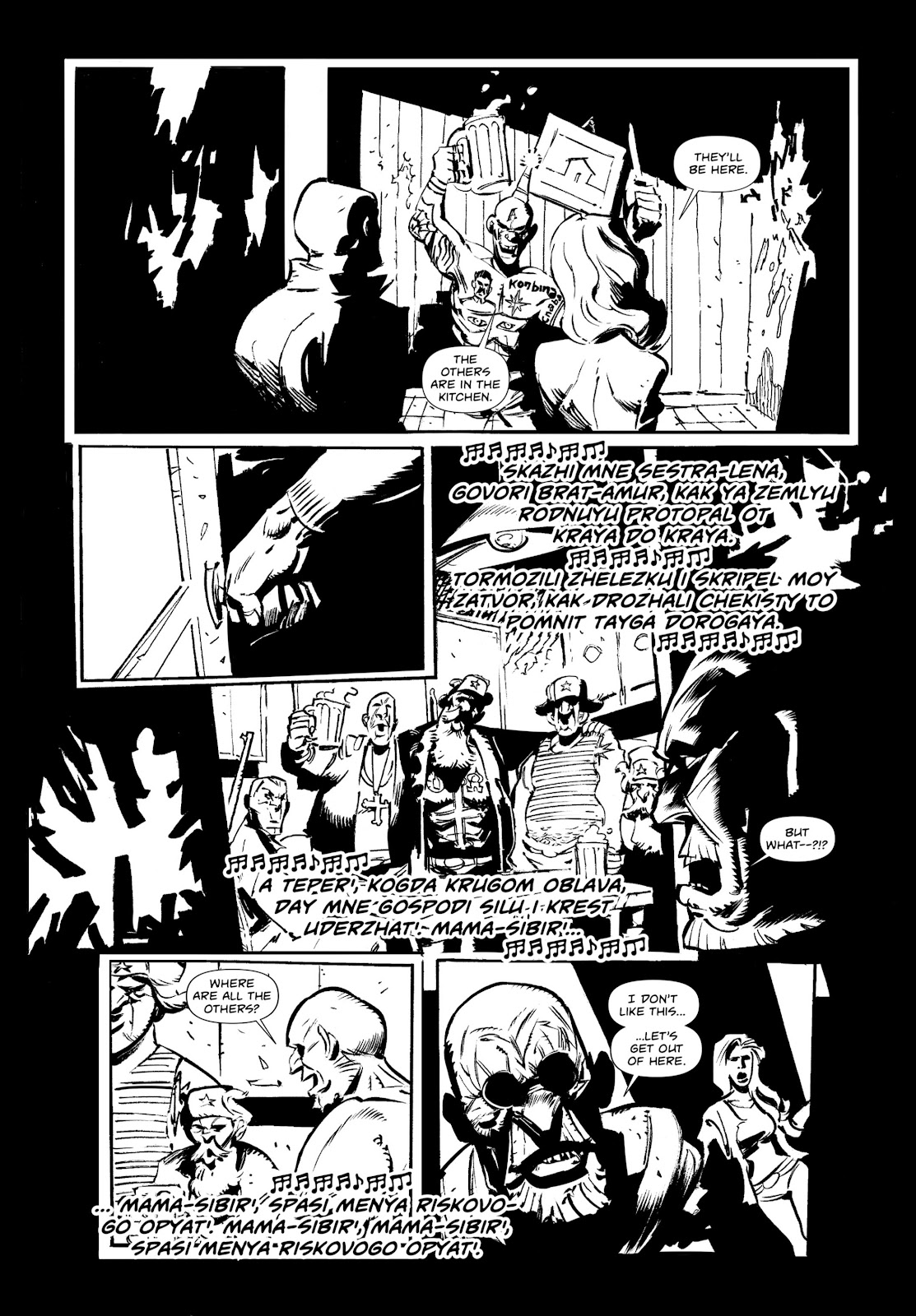 Read online Wrath of God comic -  Issue # _TPB - 49