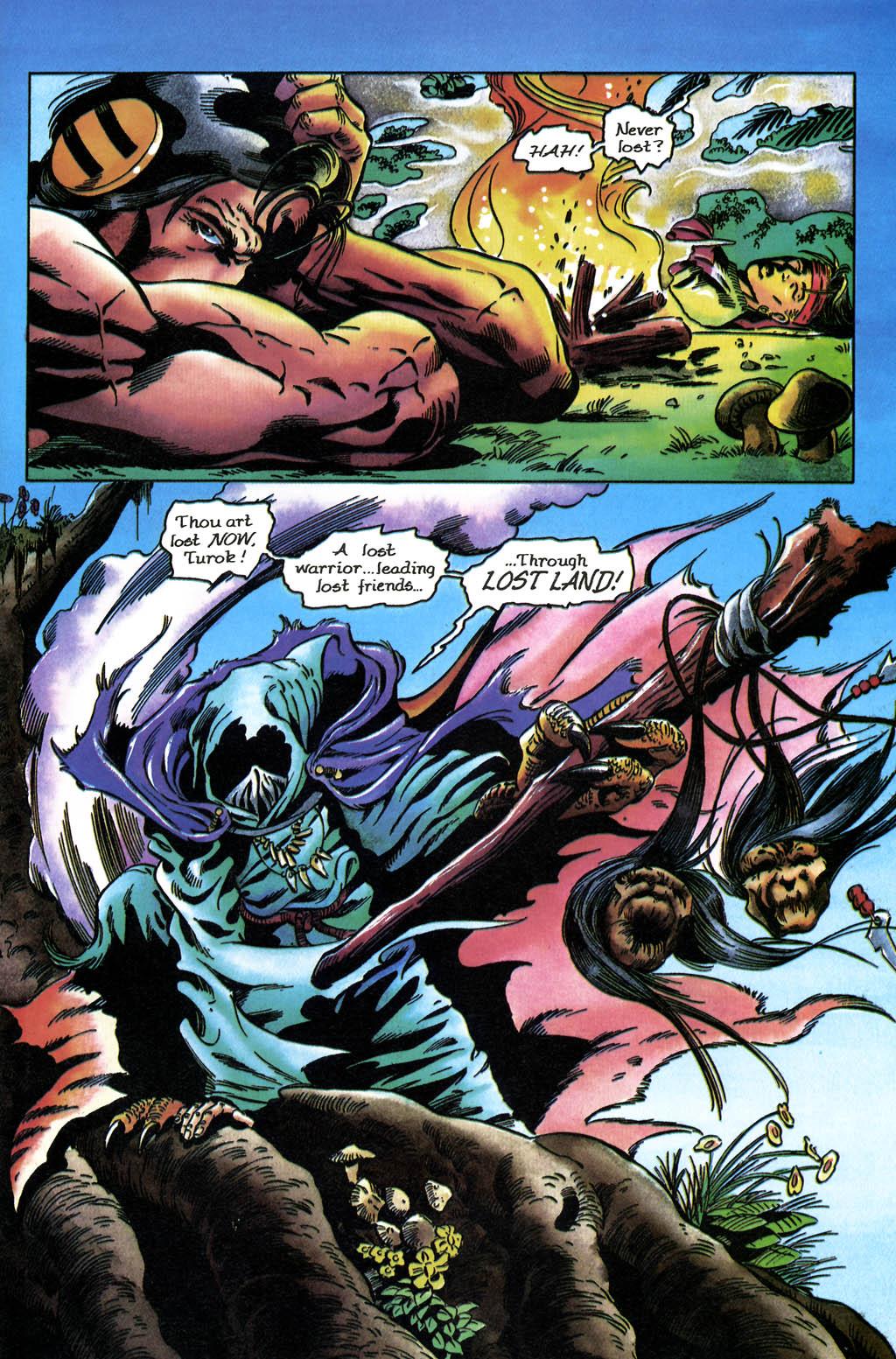 Read online Turok, Dinosaur Hunter (1993) comic -  Issue #36 - 18