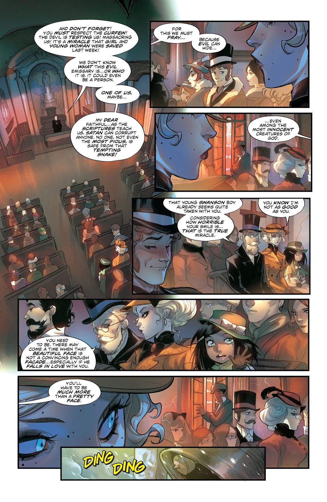 Read online Mirka Andolfo's Mercy comic -  Issue #3 - 15