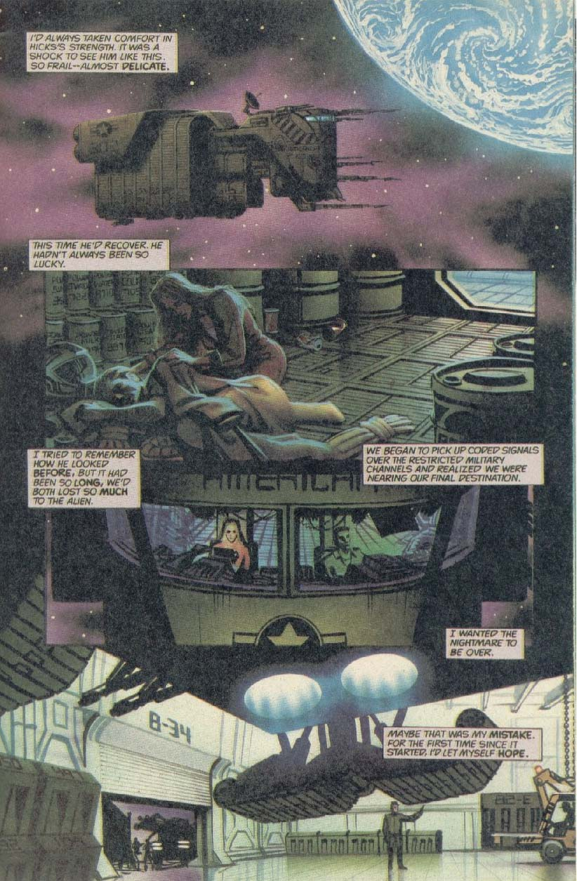 Read online Aliens (1989) comic -  Issue #1 - 23