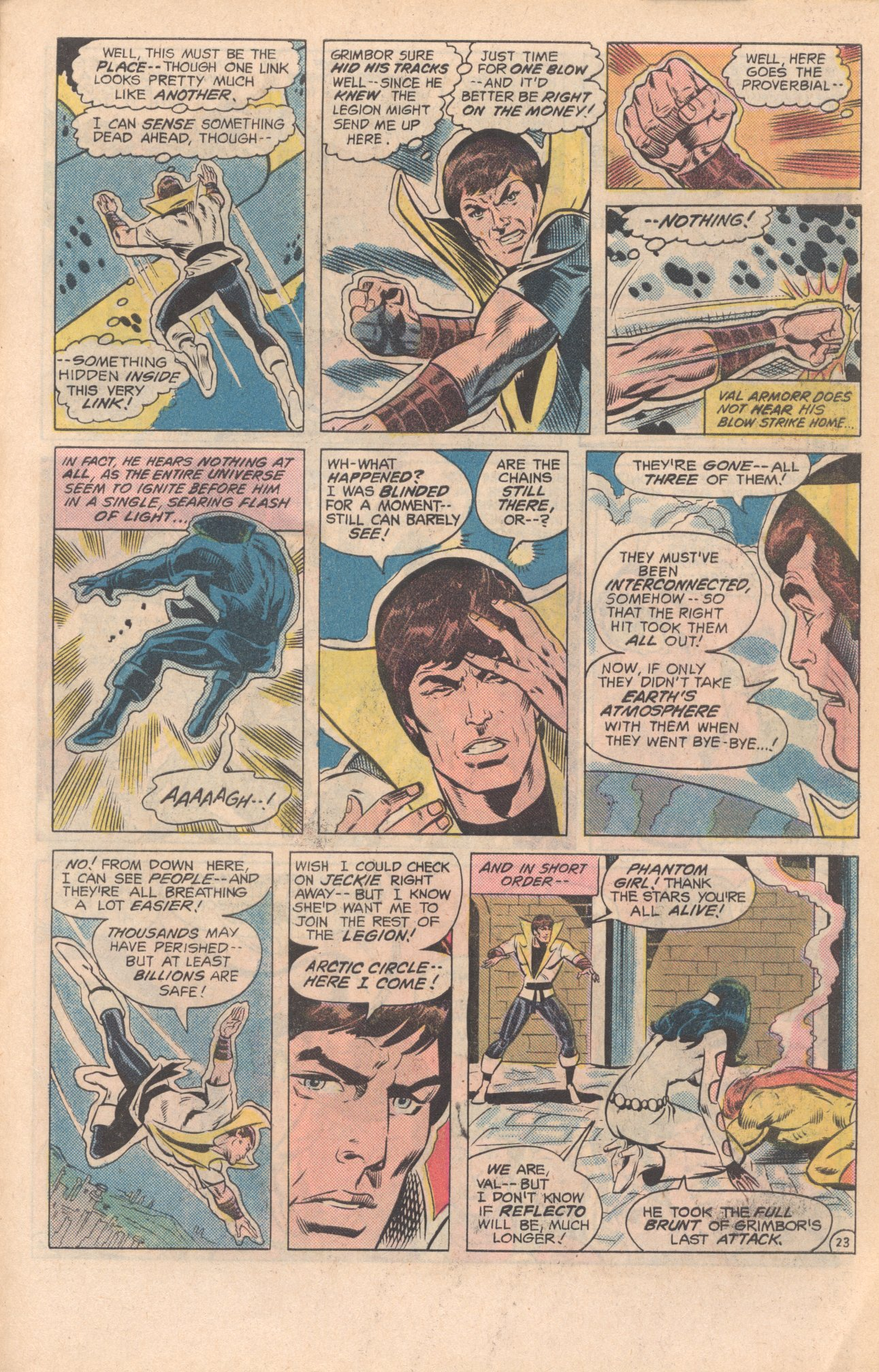 Legion of Super-Heroes (1980) 279 Page 23