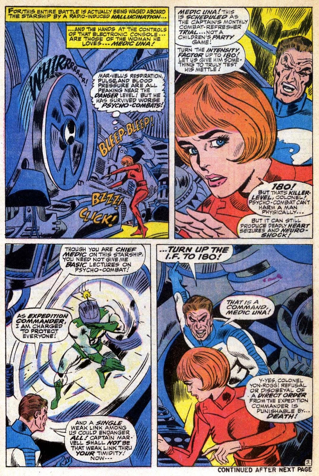Captain Marvel (1968) Issue #6 #6 - English 4