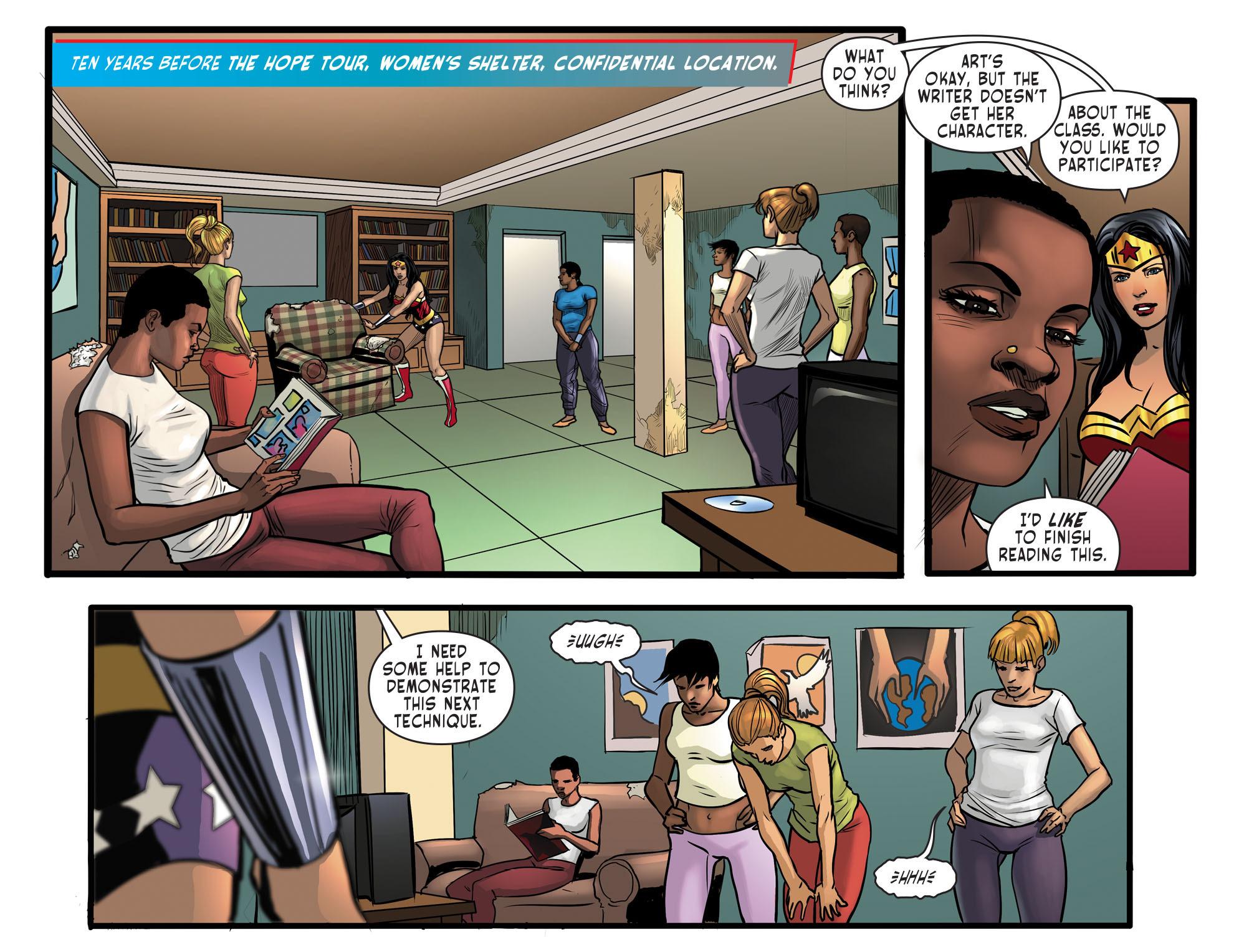 Read online Sensation Comics Featuring Wonder Woman comic -  Issue #29 - 9