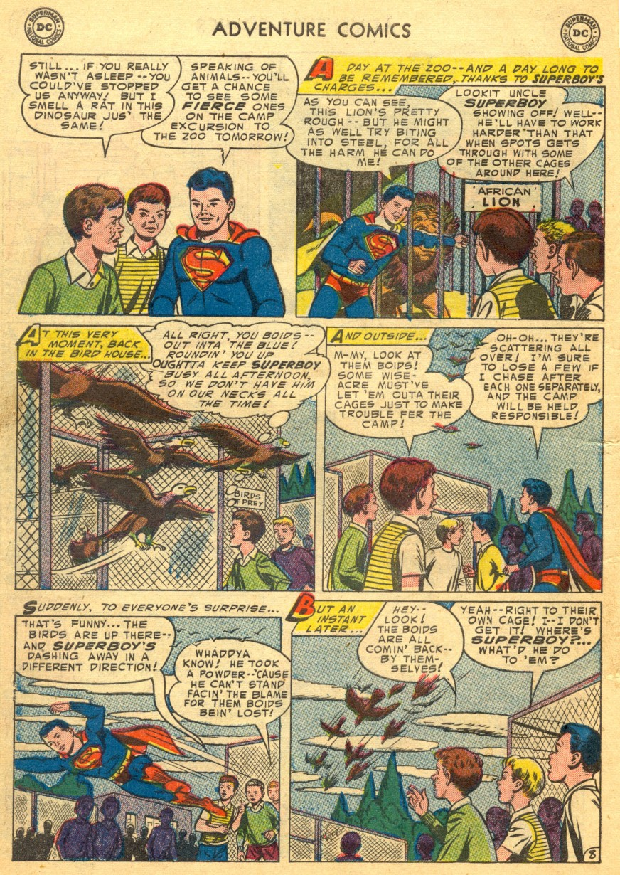 Read online Adventure Comics (1938) comic -  Issue #203 - 10
