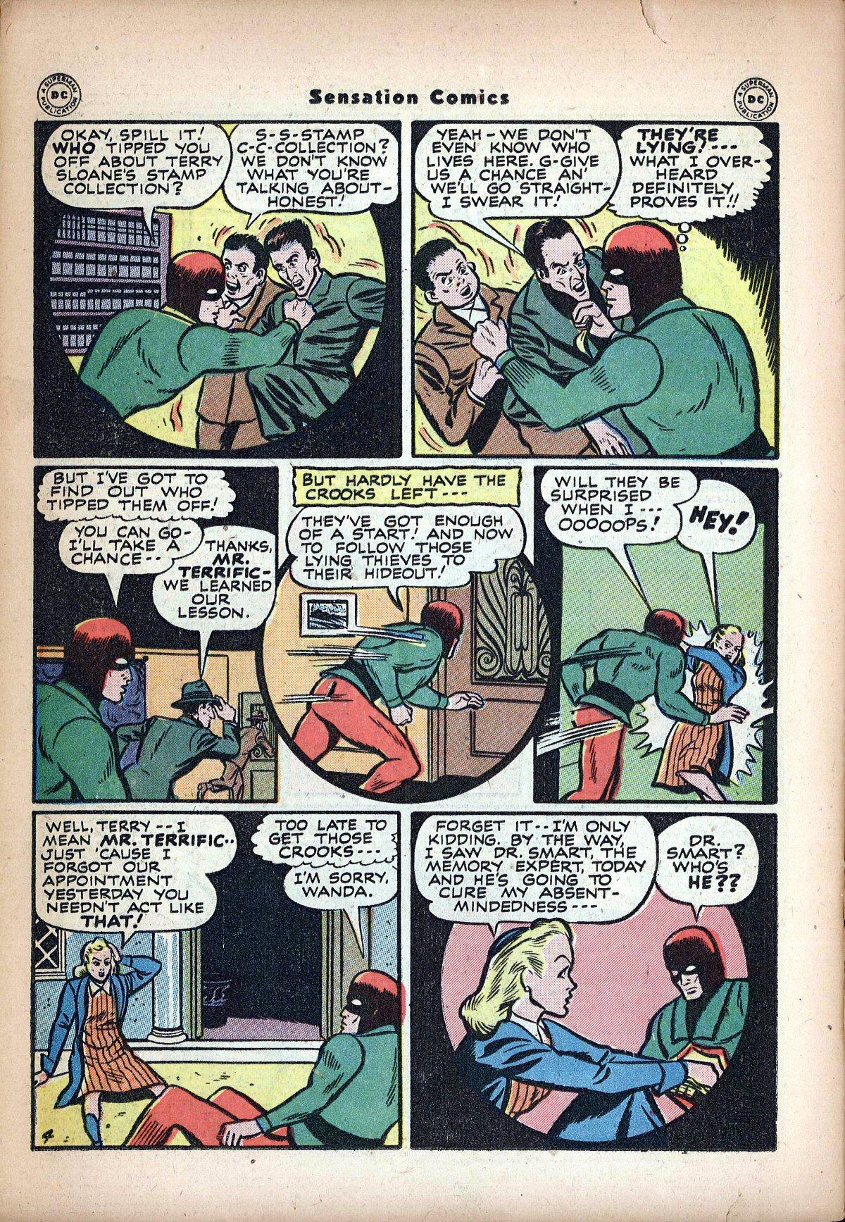 Read online Sensation (Mystery) Comics comic -  Issue #62 - 38