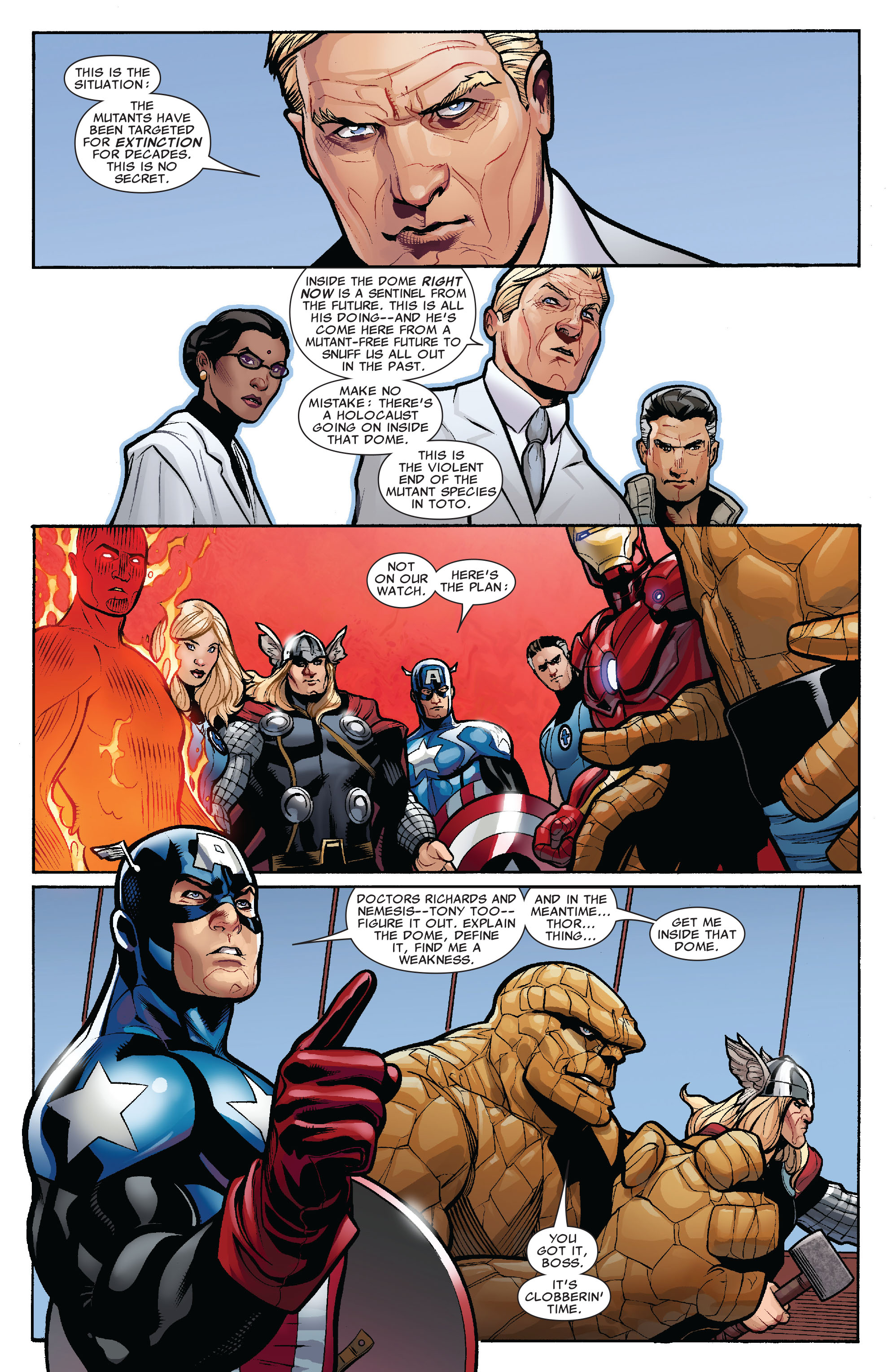 Read online Uncanny X-Men (1963) comic -  Issue #525 - 8