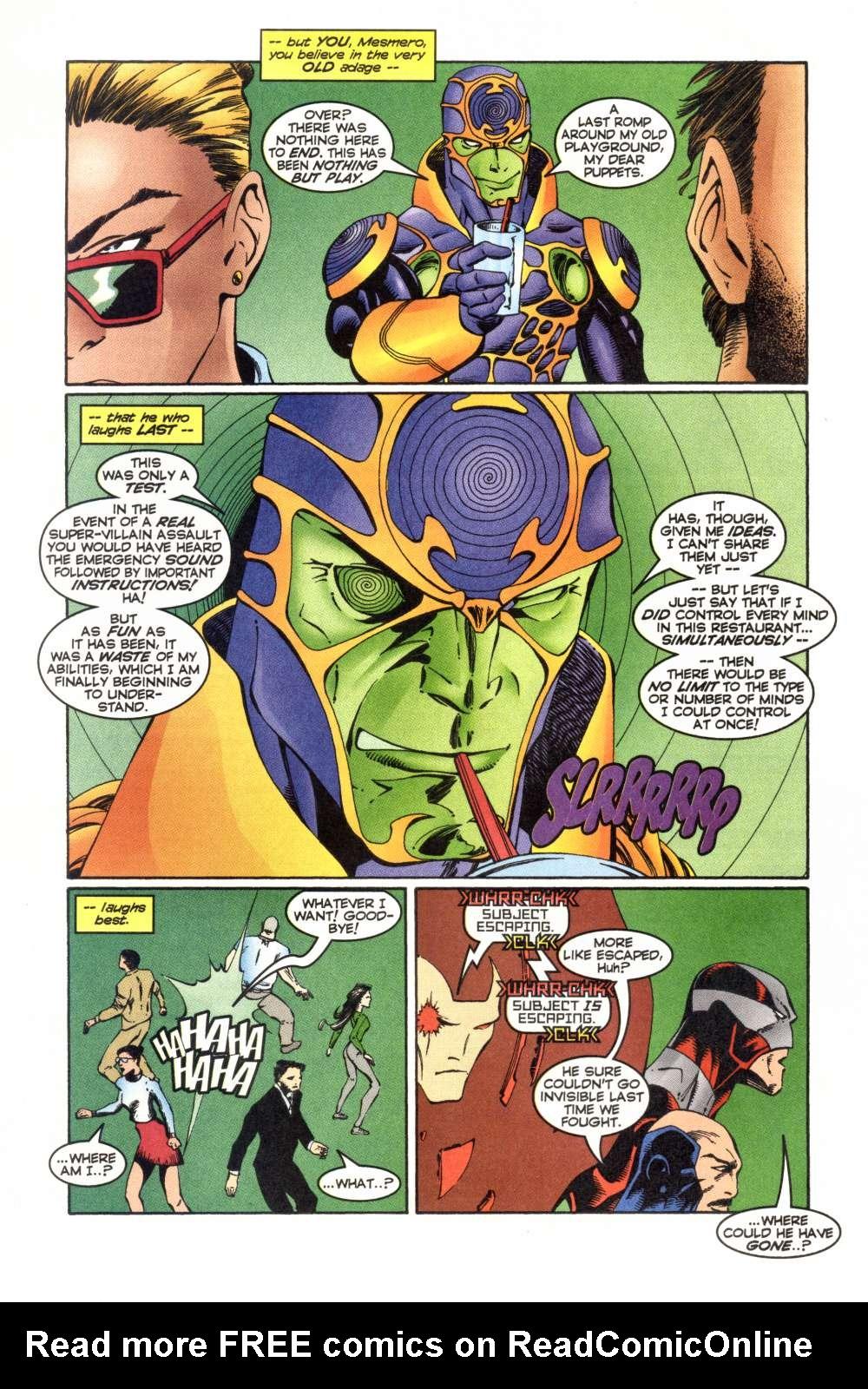 Read online Alpha Flight (1997) comic -  Issue #5 - 23