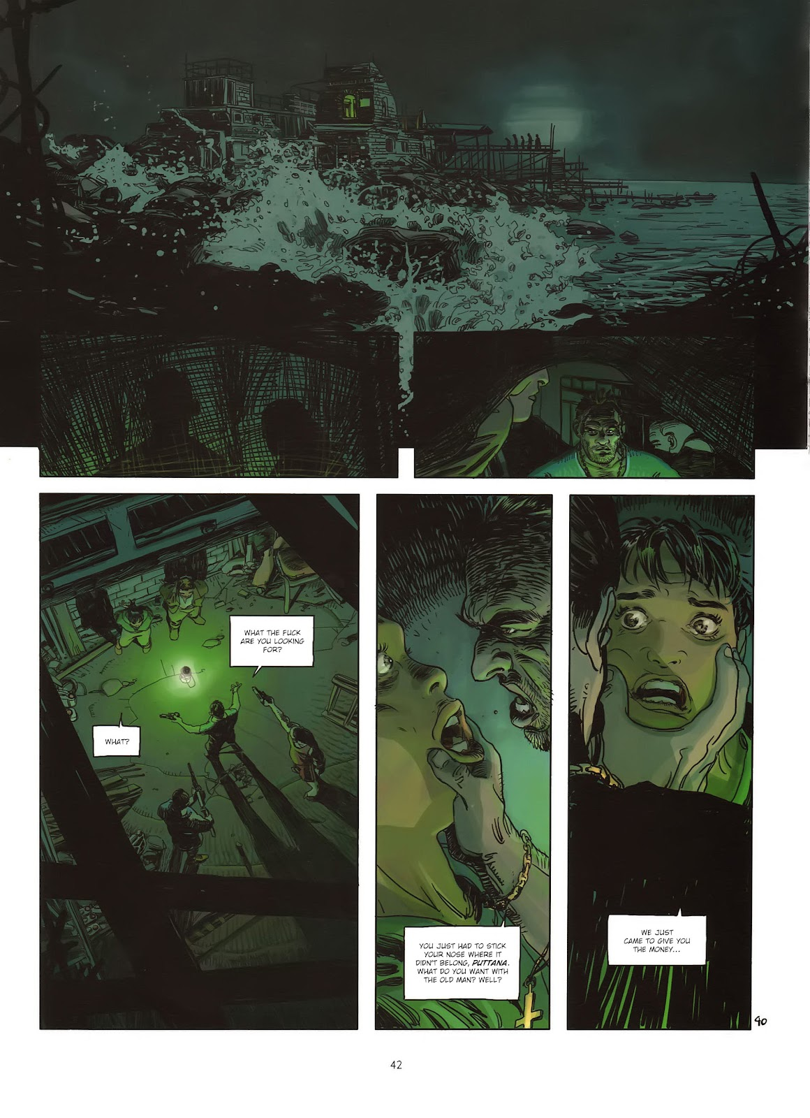 Read online Cutting Edge (2013) comic -  Issue #1 - 40
