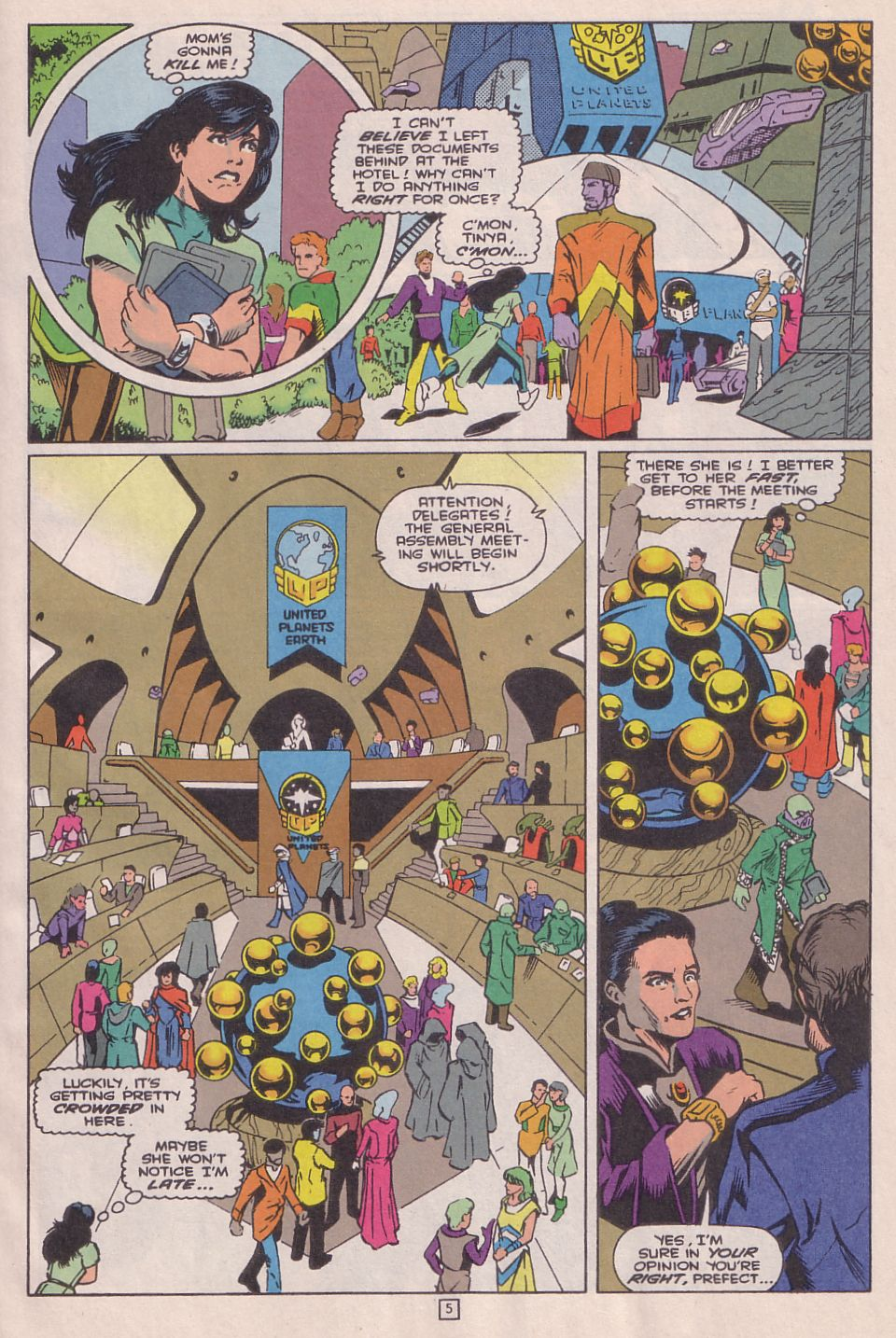 Legionnaires issue 0 - Page 6