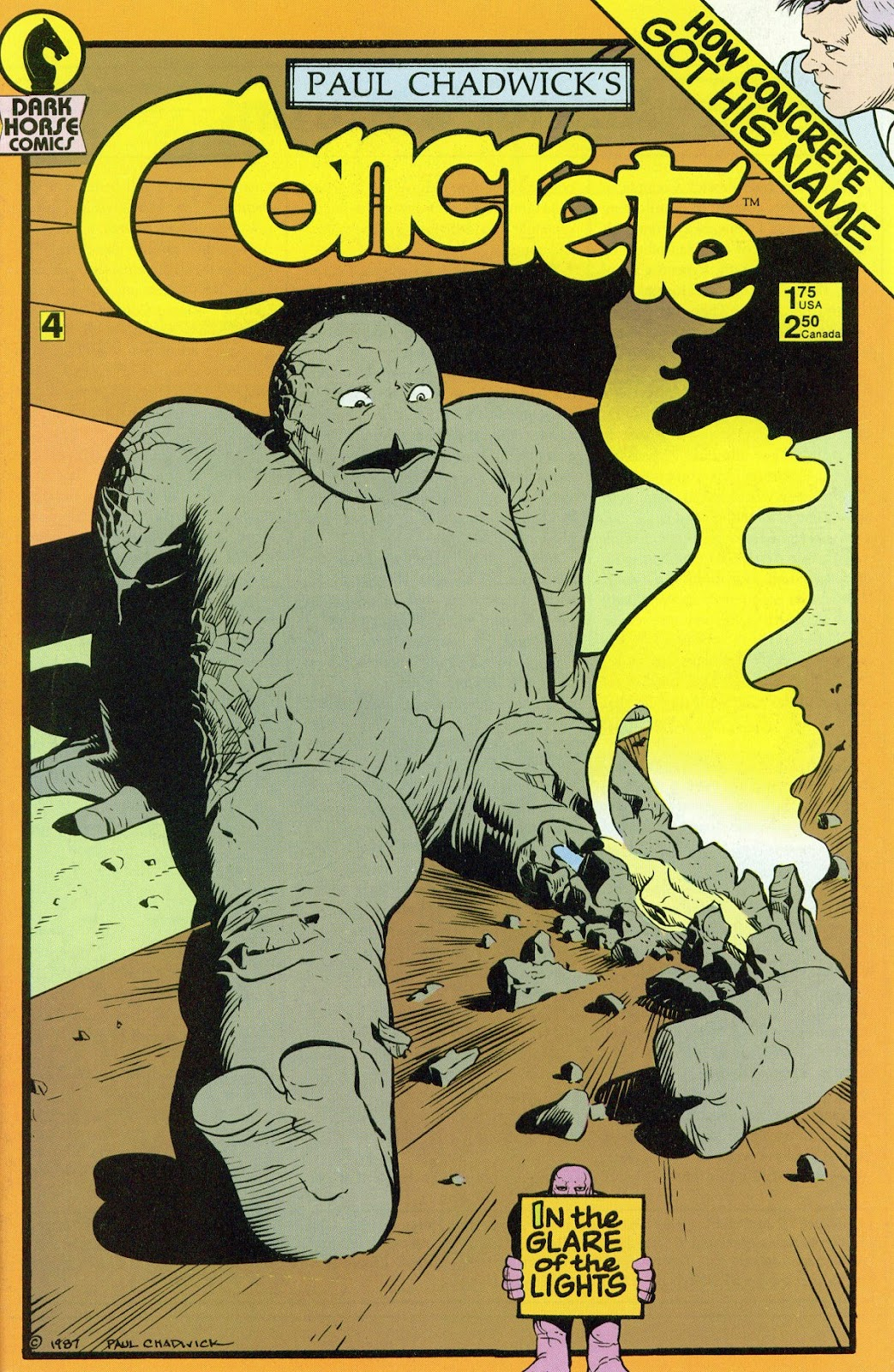 Concrete (1987) issue 4 - Page 1