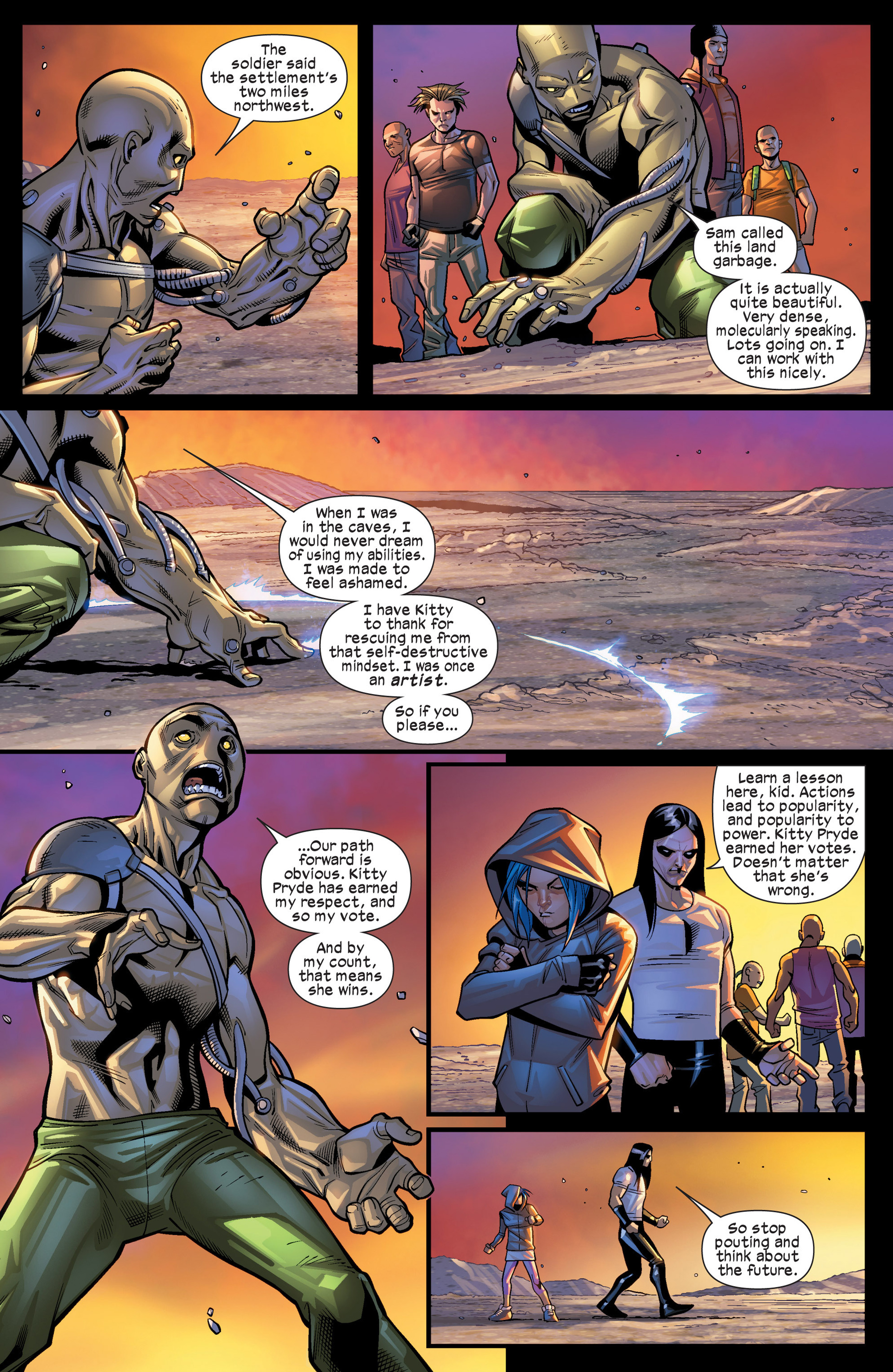 Read online Ultimate Comics X-Men comic -  Issue #19 - 10