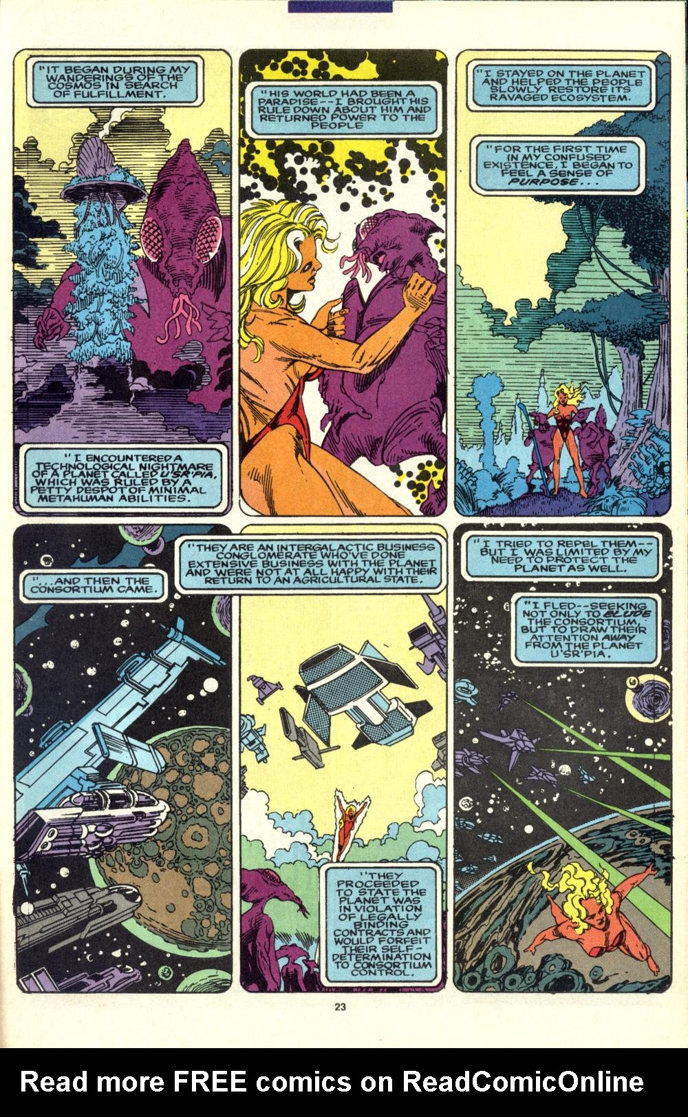 Read online Alpha Flight (1983) comic -  Issue #99 - 18