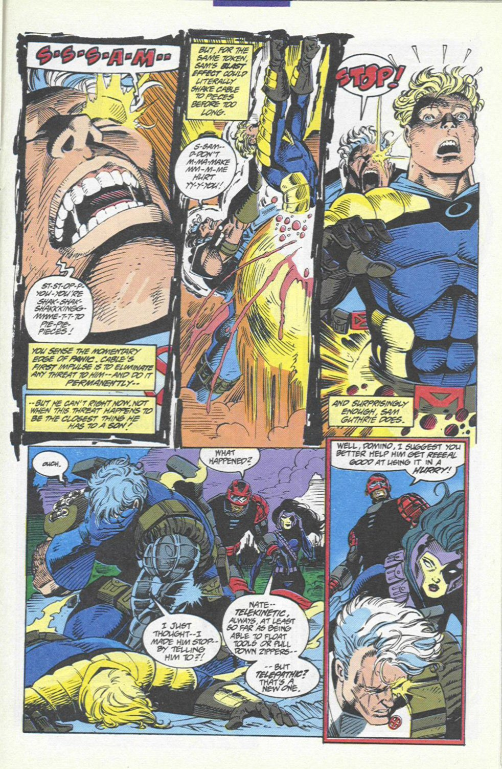 The New Warriors Issue #46 #50 - English 17
