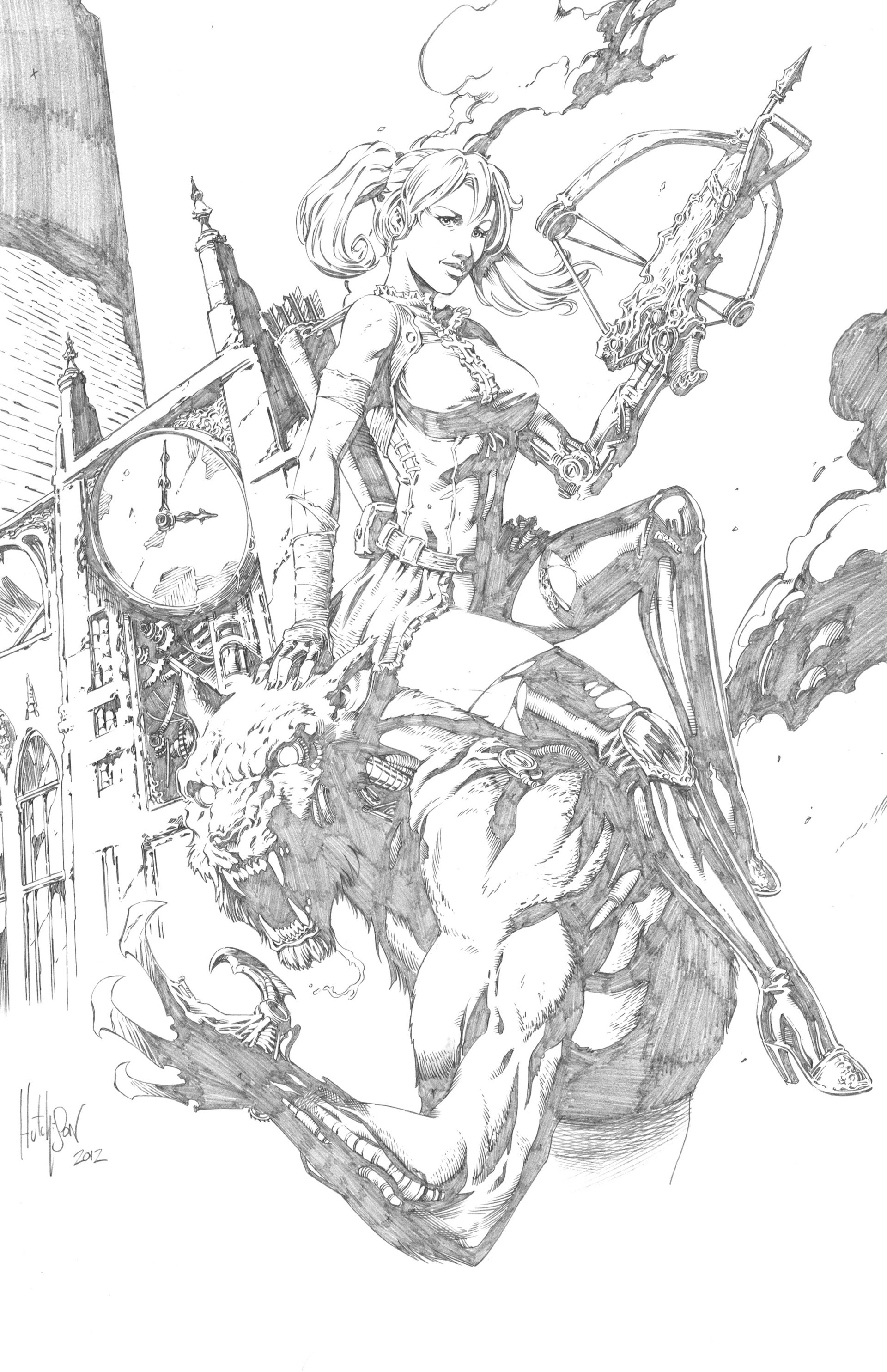 Read online Steampunk Halloween 2012 comic -  Issue # Full - 19