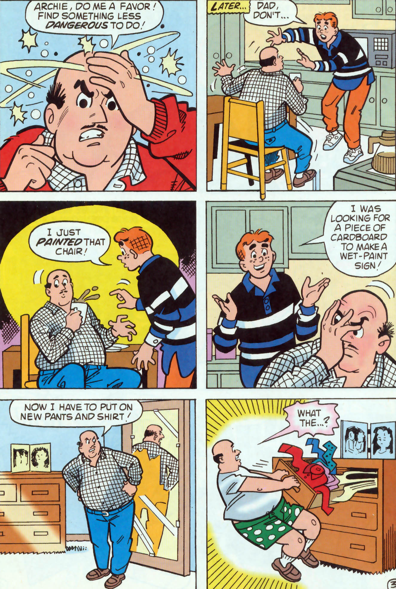 Read online Archie (1960) comic -  Issue #460 - 16