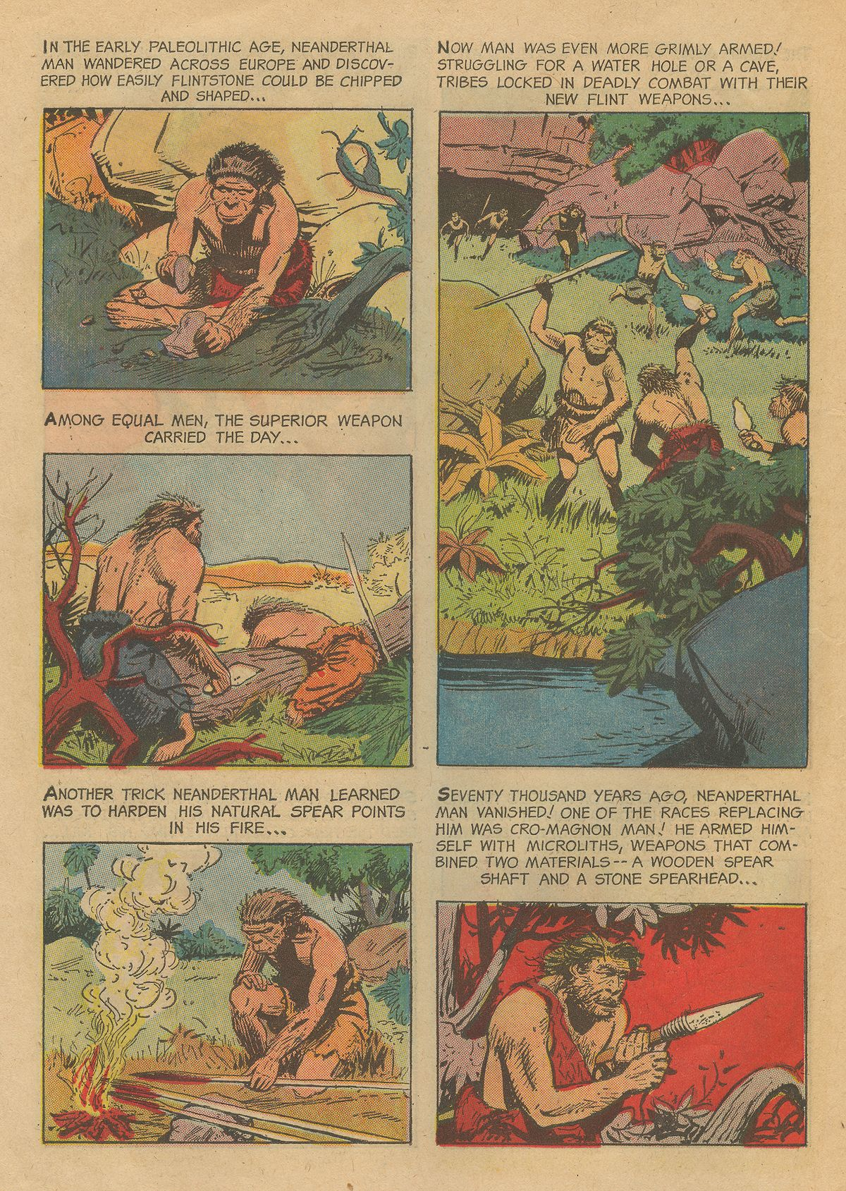 Read online Turok, Son of Stone comic -  Issue #54 - 22