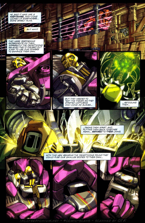 Read online Transformers Armada comic -  Issue #1 - 16