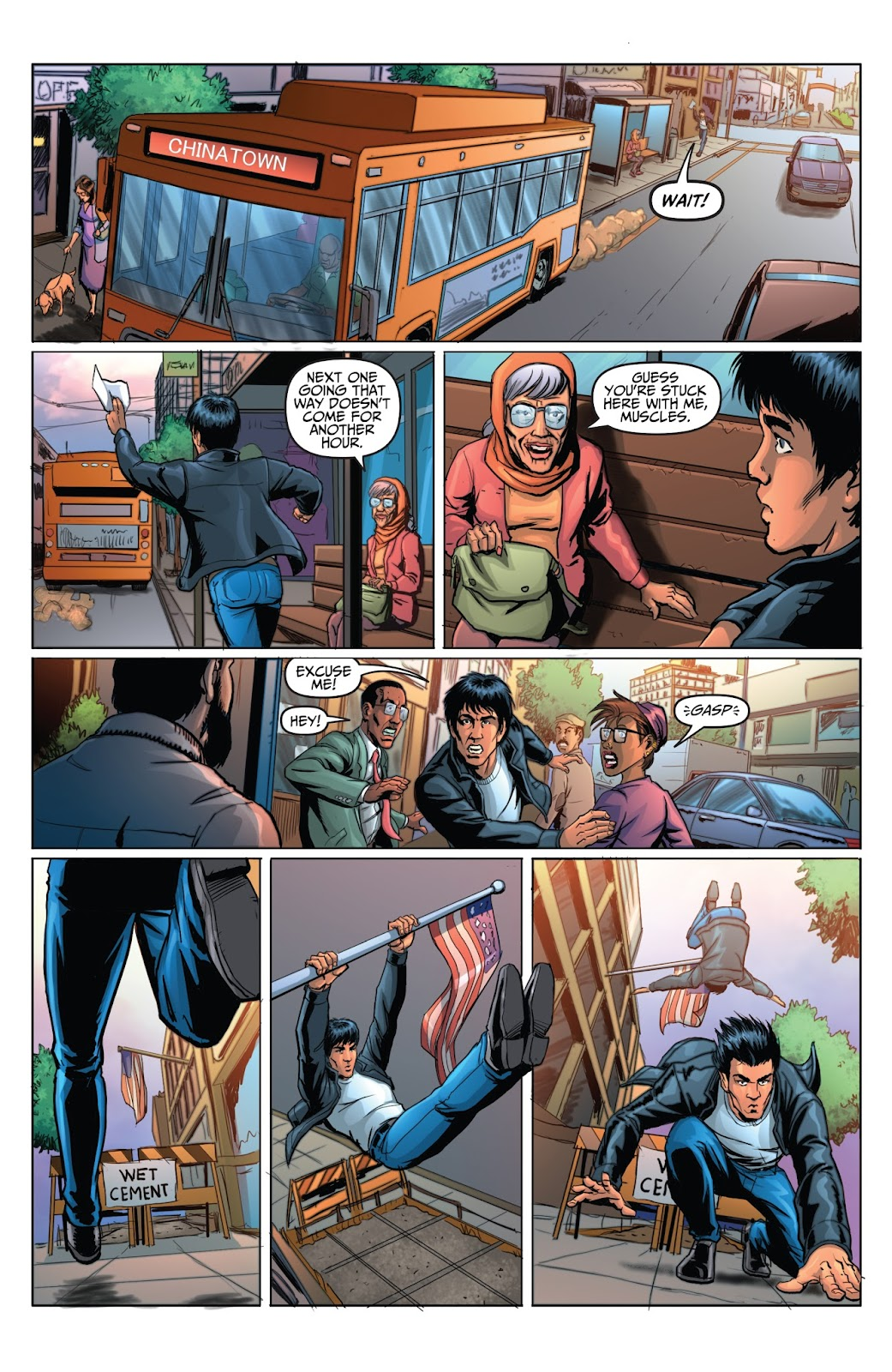 Bruce Lee: Walk of the Dragon issue Full - Page 6