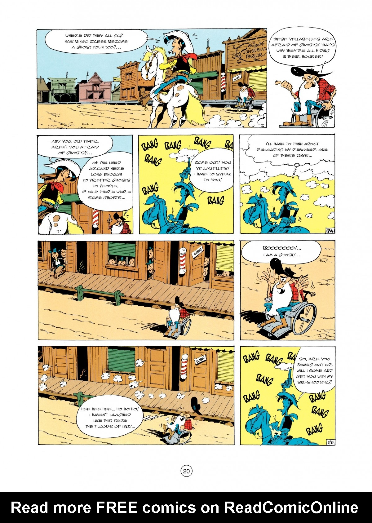 Read online A Lucky Luke Adventure comic -  Issue #2 - 22