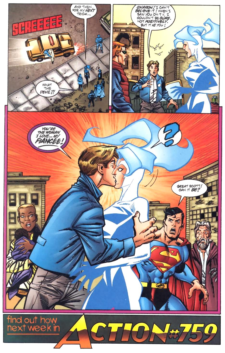 Read online Adventures of Superman (1987) comic -  Issue #572 - 23
